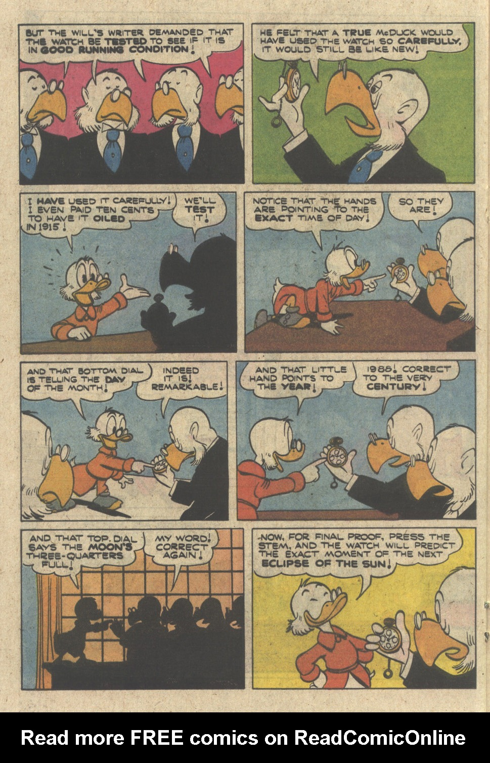Read online Uncle Scrooge (1953) comic -  Issue #230 - 20