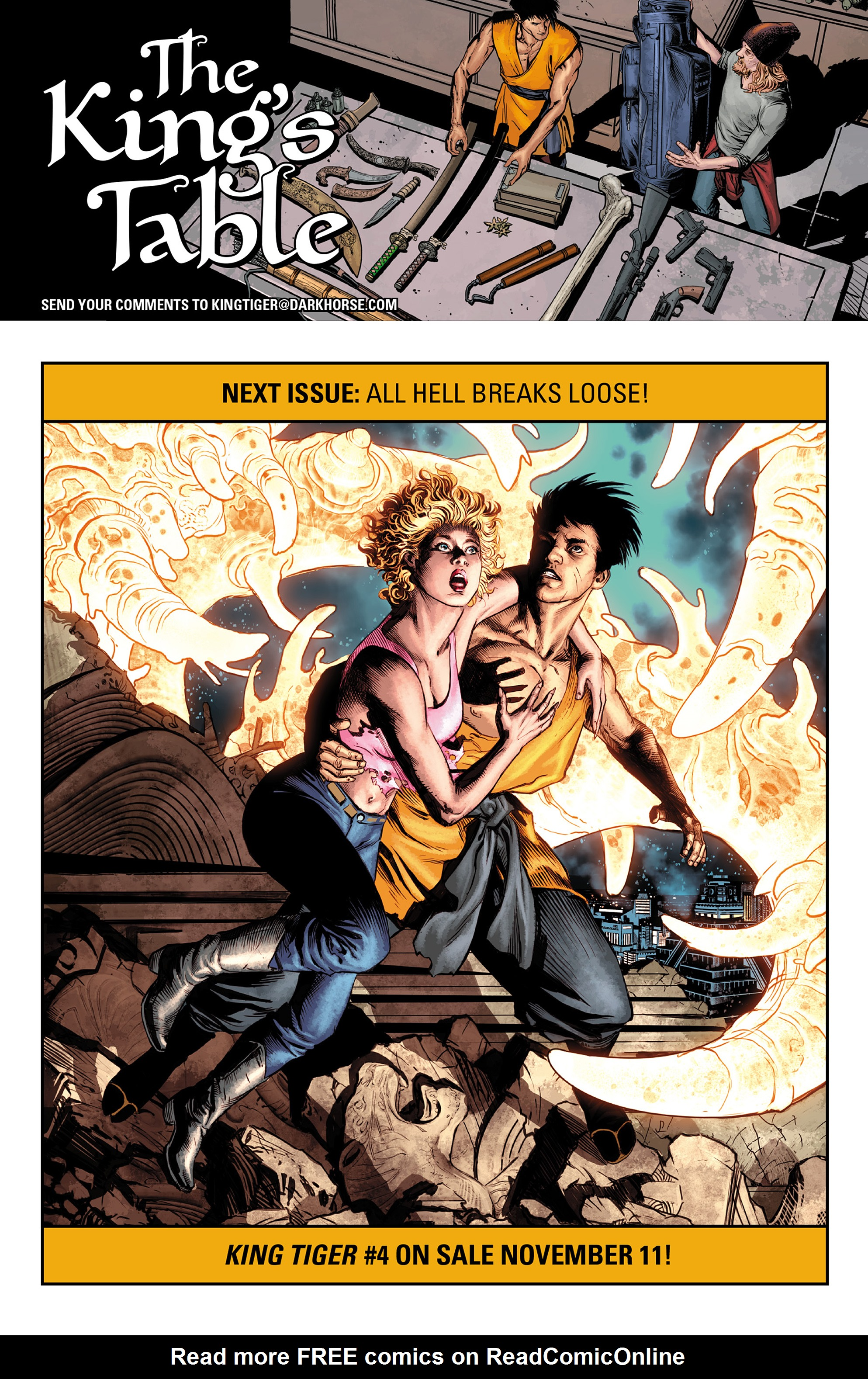 Read online King Tiger comic -  Issue #3 - 25