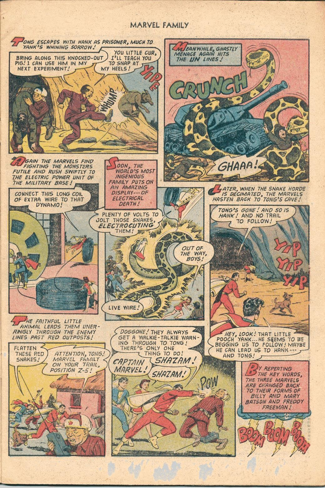 The Marvel Family issue 82 - Page 7