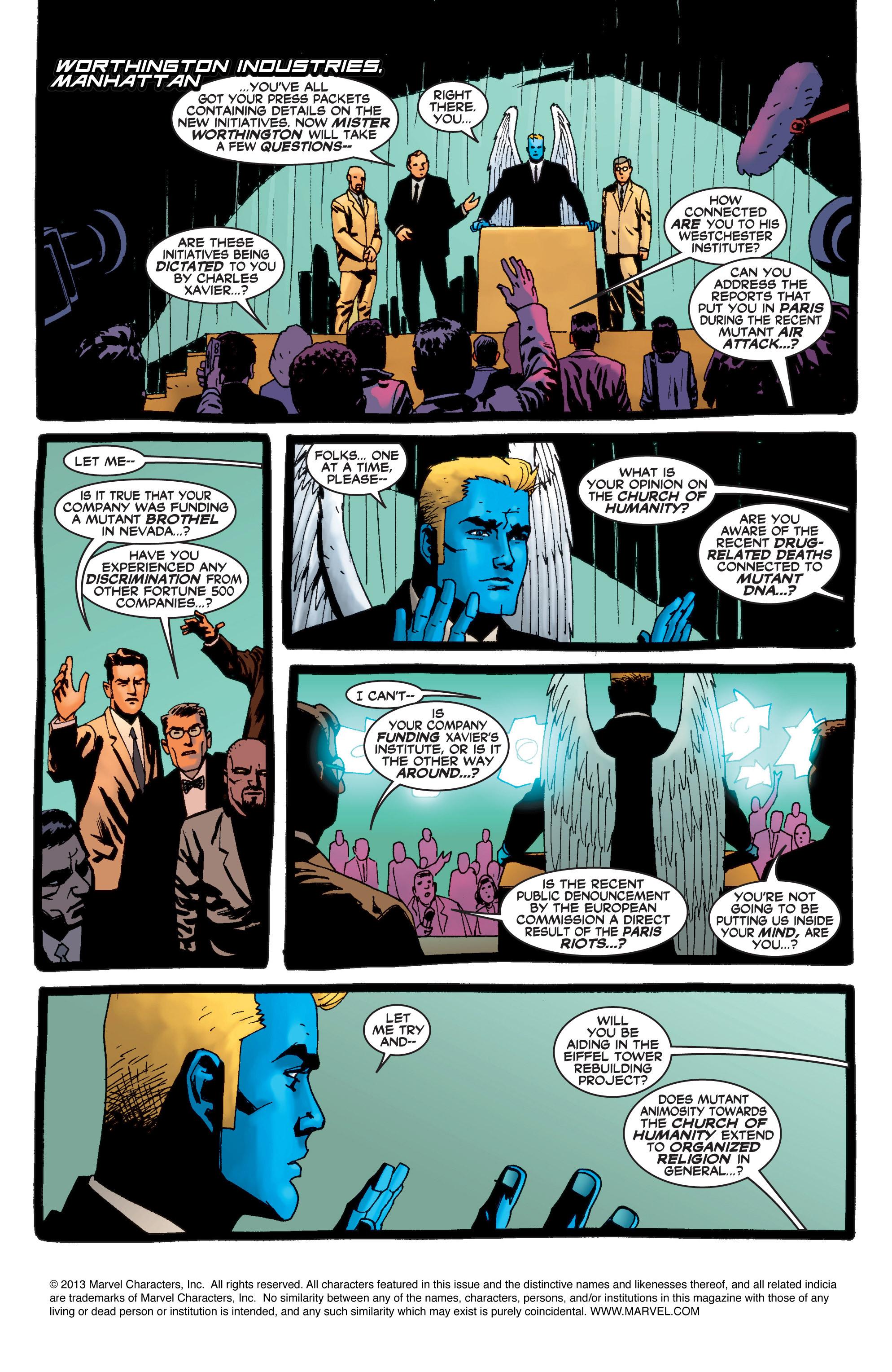 Read online Uncanny X-Men (1963) comic -  Issue #408 - 2