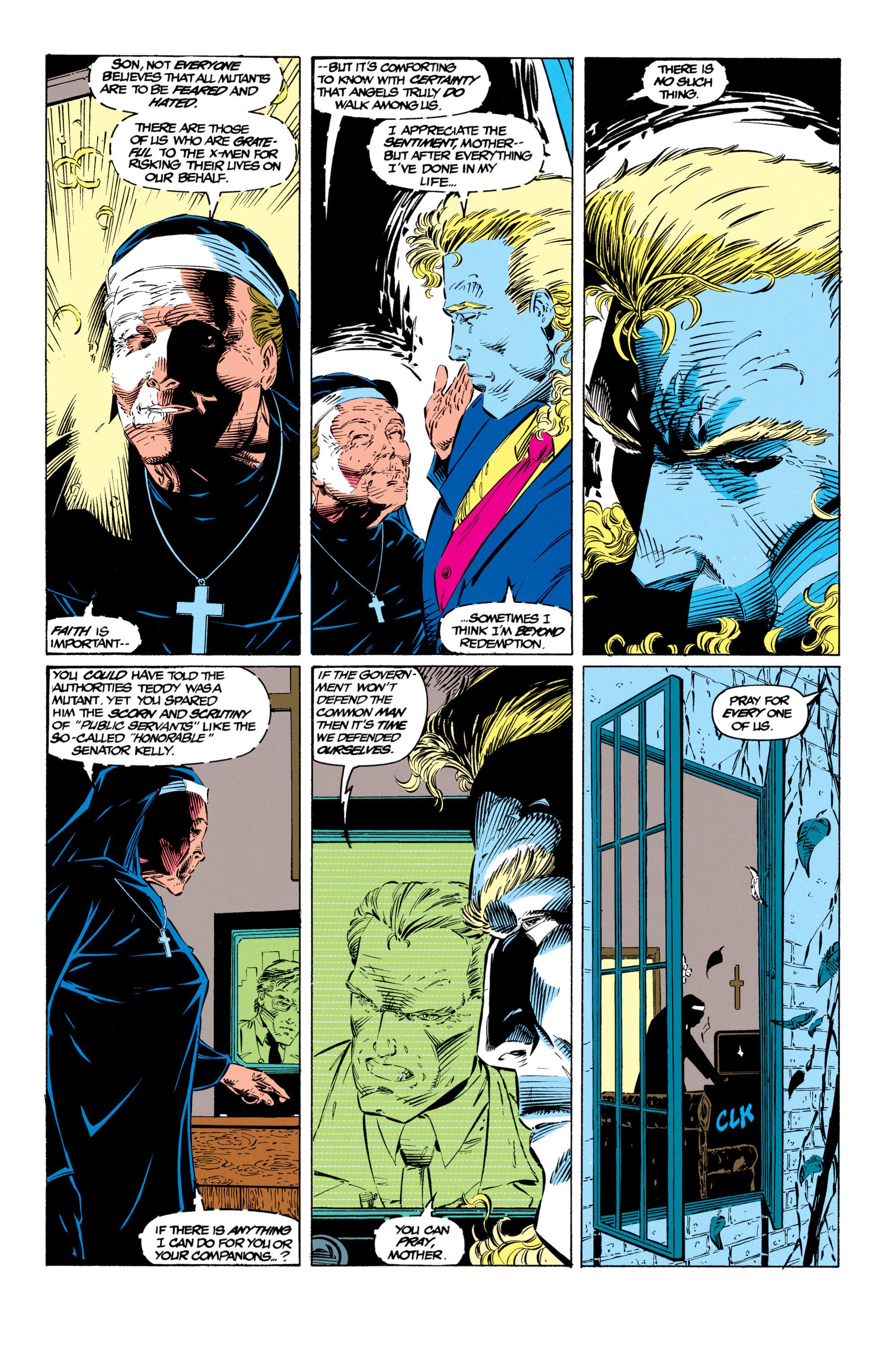 Read online Uncanny X-Men (1963) comic -  Issue #299 - 8