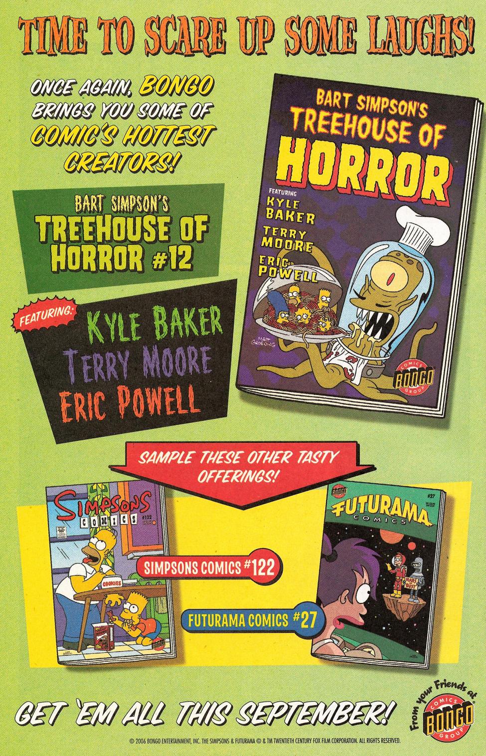 Read online Simpsons Comics Presents Bart Simpson comic -  Issue #31 - 34