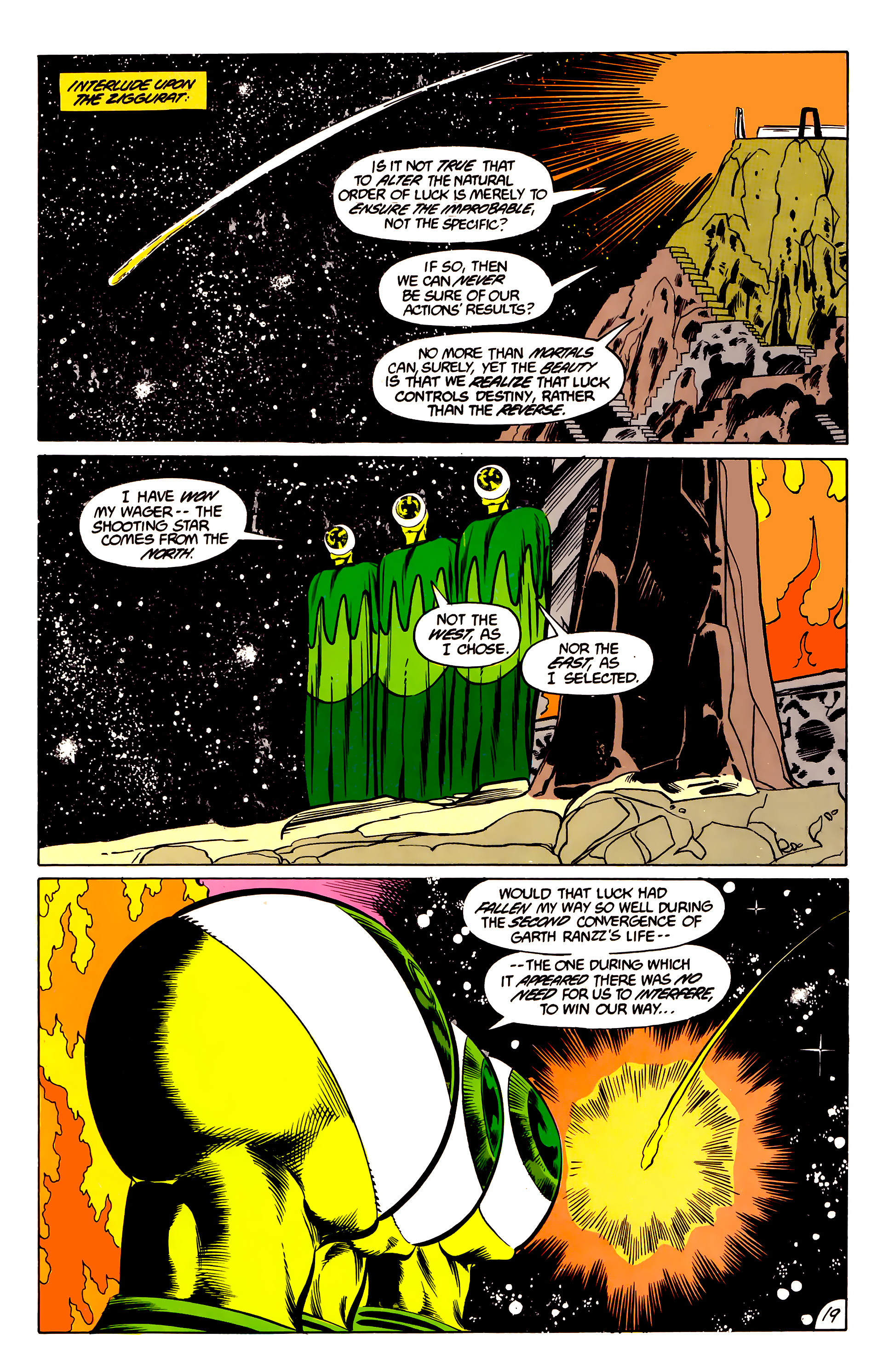 Legion of Super-Heroes (1984) 45 Page 19