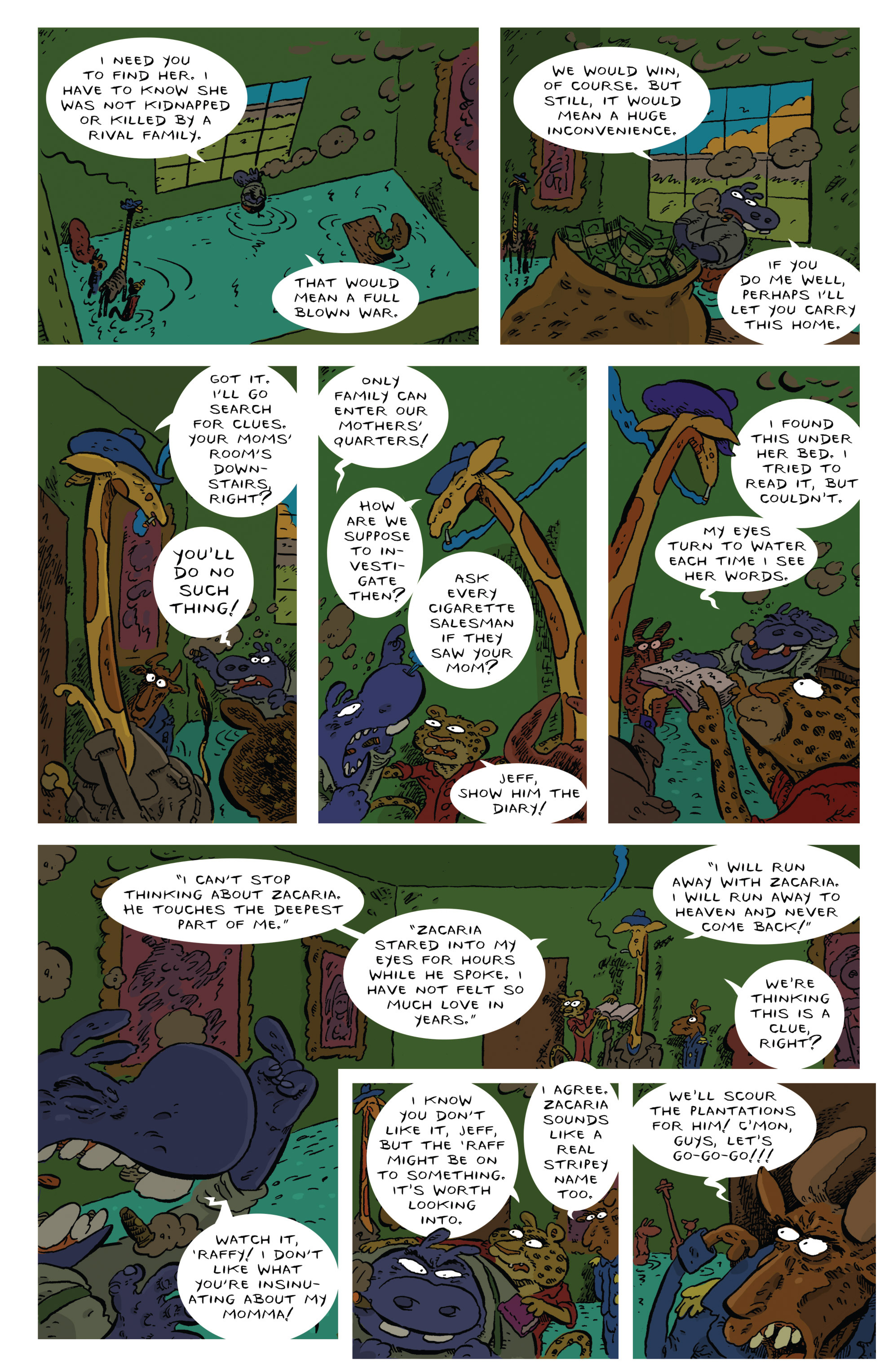 Read online Animal Noir comic -  Issue #4 - 9