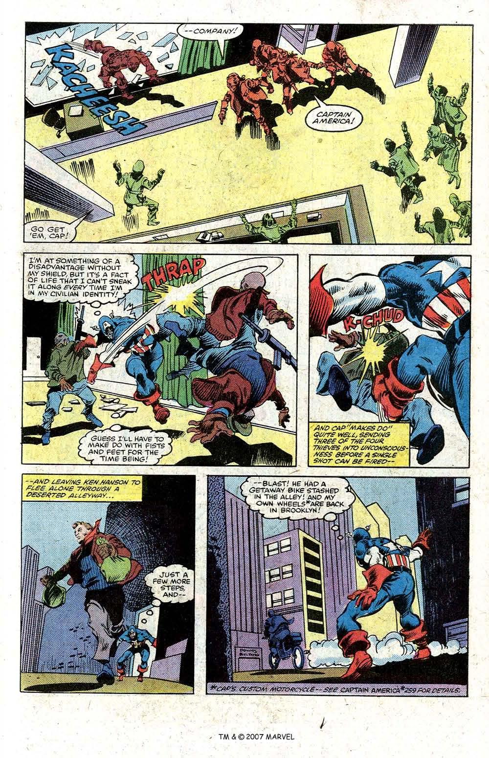 Read online Captain America (1968) comic -  Issue # _Annual 5 - 31