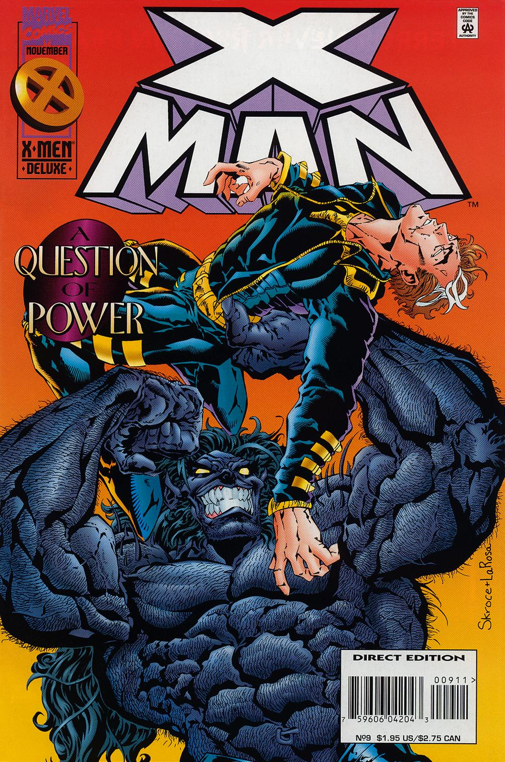 X-Man 9 Page 1