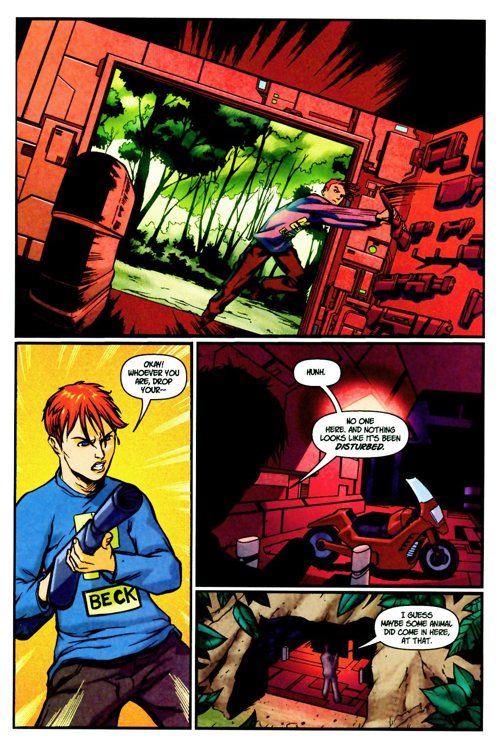 Read online SpyBoy: Final Exam comic -  Issue #2 - 15
