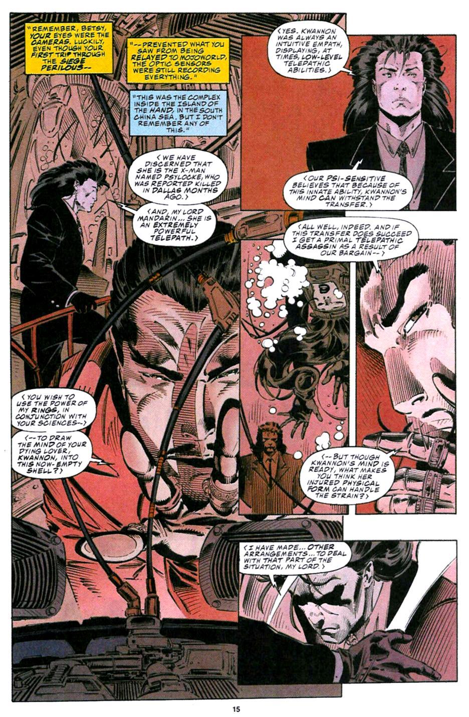X-Men (1991) 32 Page 9