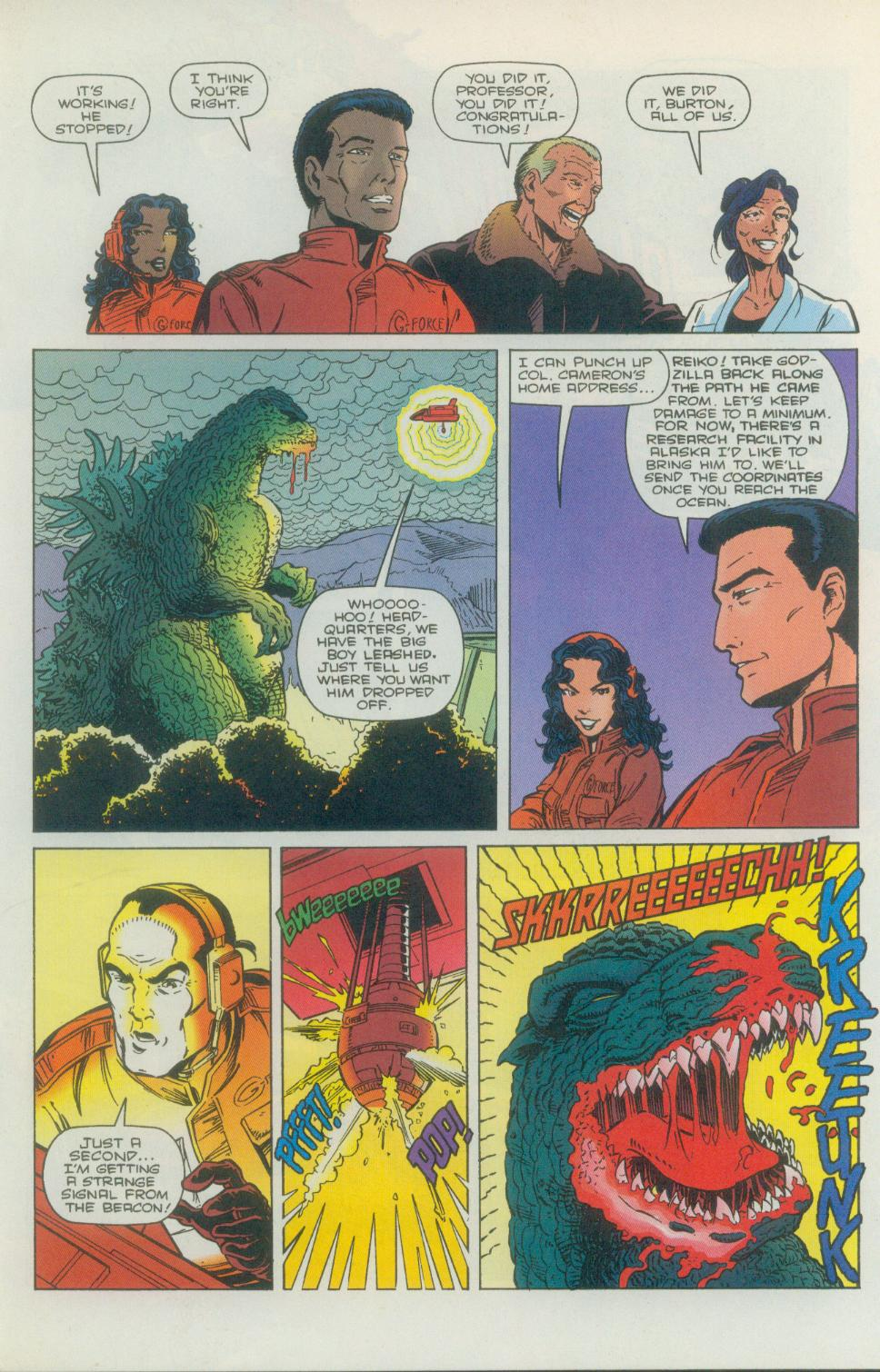 Godzilla (1995) Issue #1 #2 - English 16