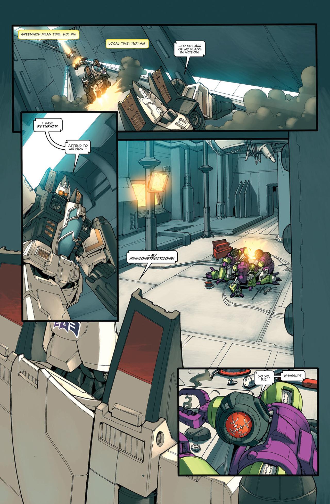 Read online Transformers Spotlight: Ramjet comic -  Issue # Full - 8