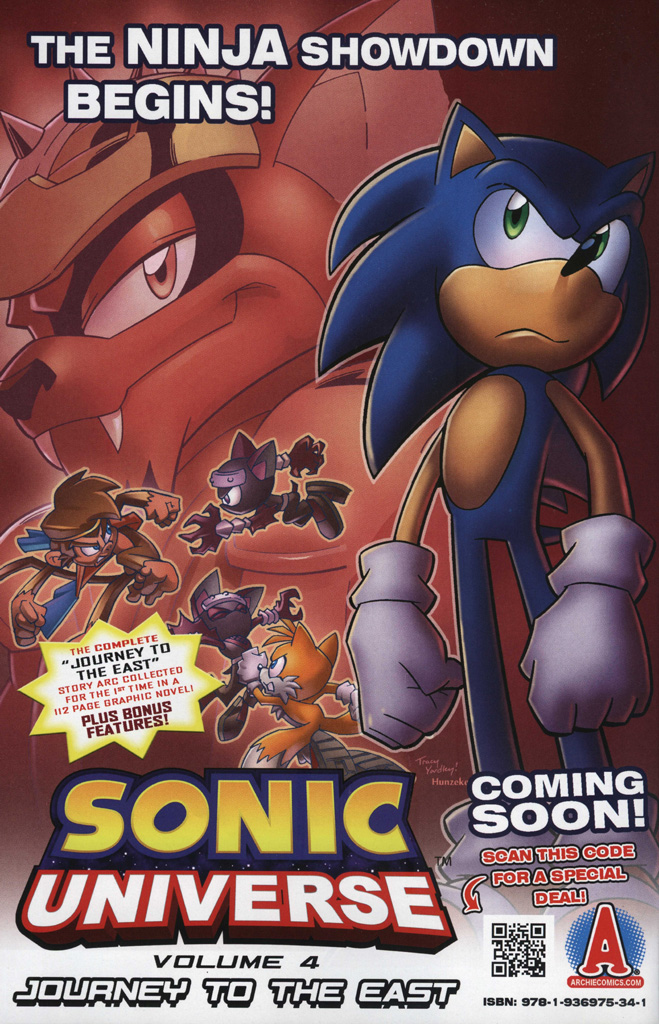 Read online Sonic Universe comic -  Issue #48 - 2