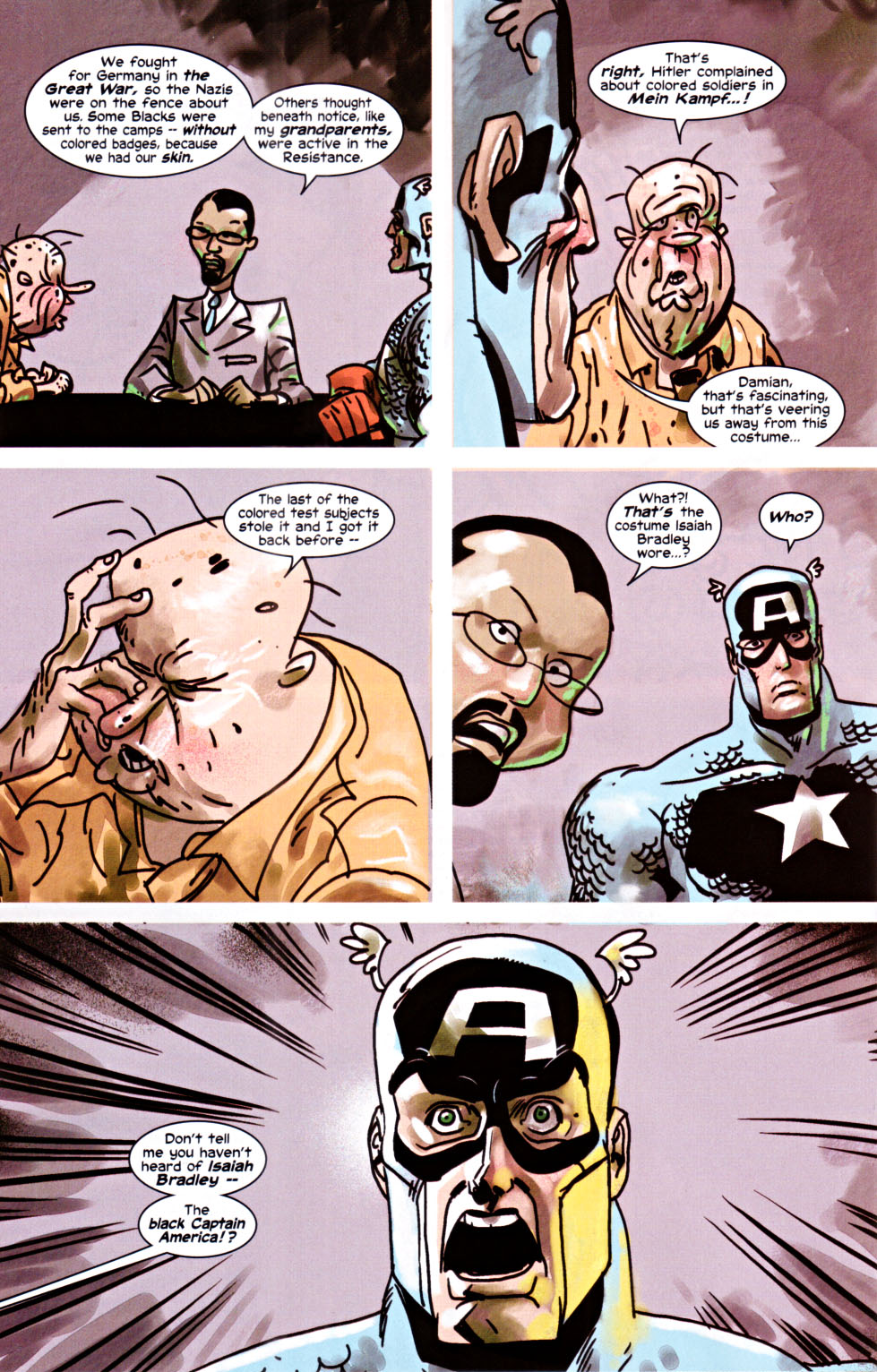 Read online Truth: Red, White & Black comic -  Issue #6 - 17