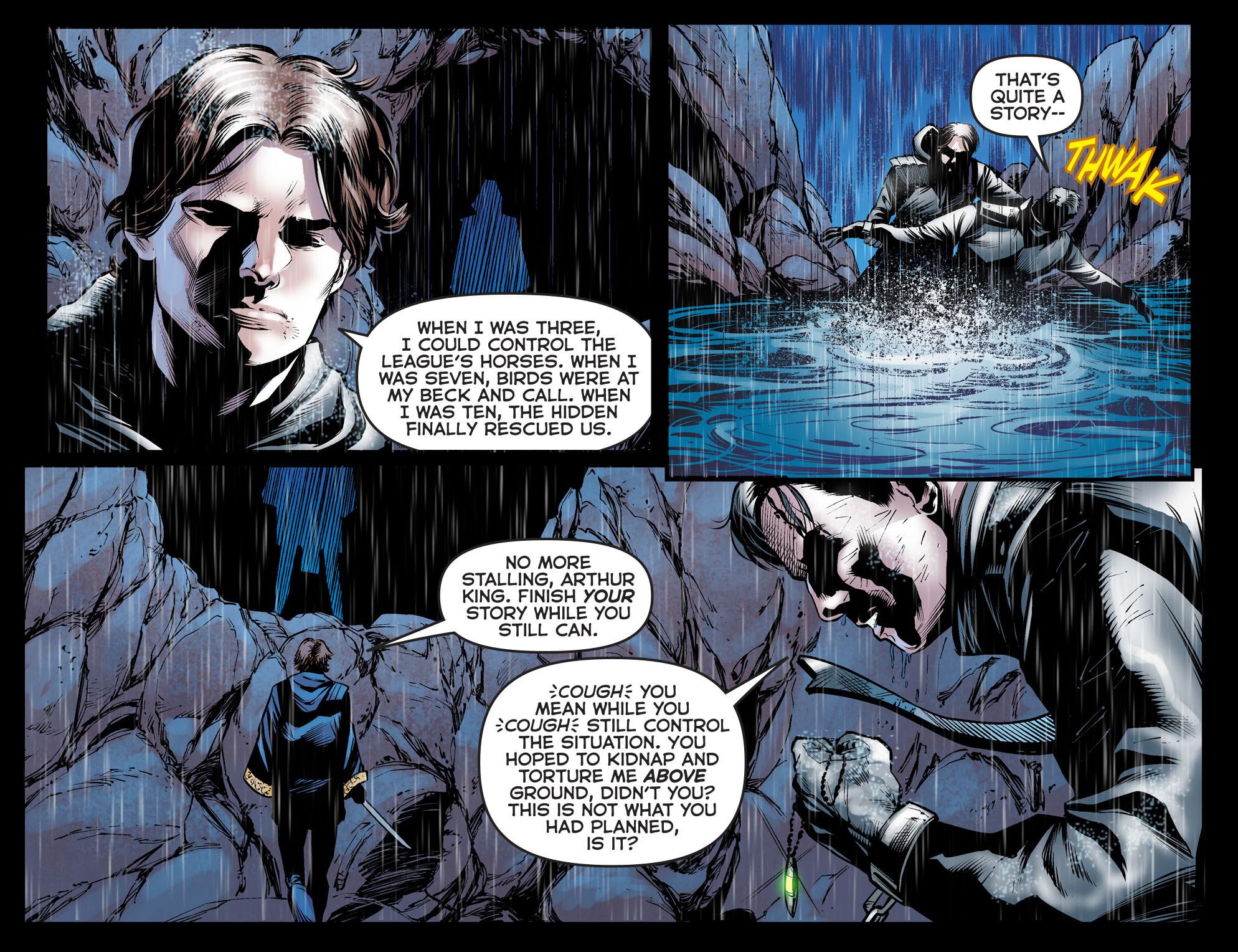 Read online Arrow: The Dark Archer comic -  Issue #5 - 6