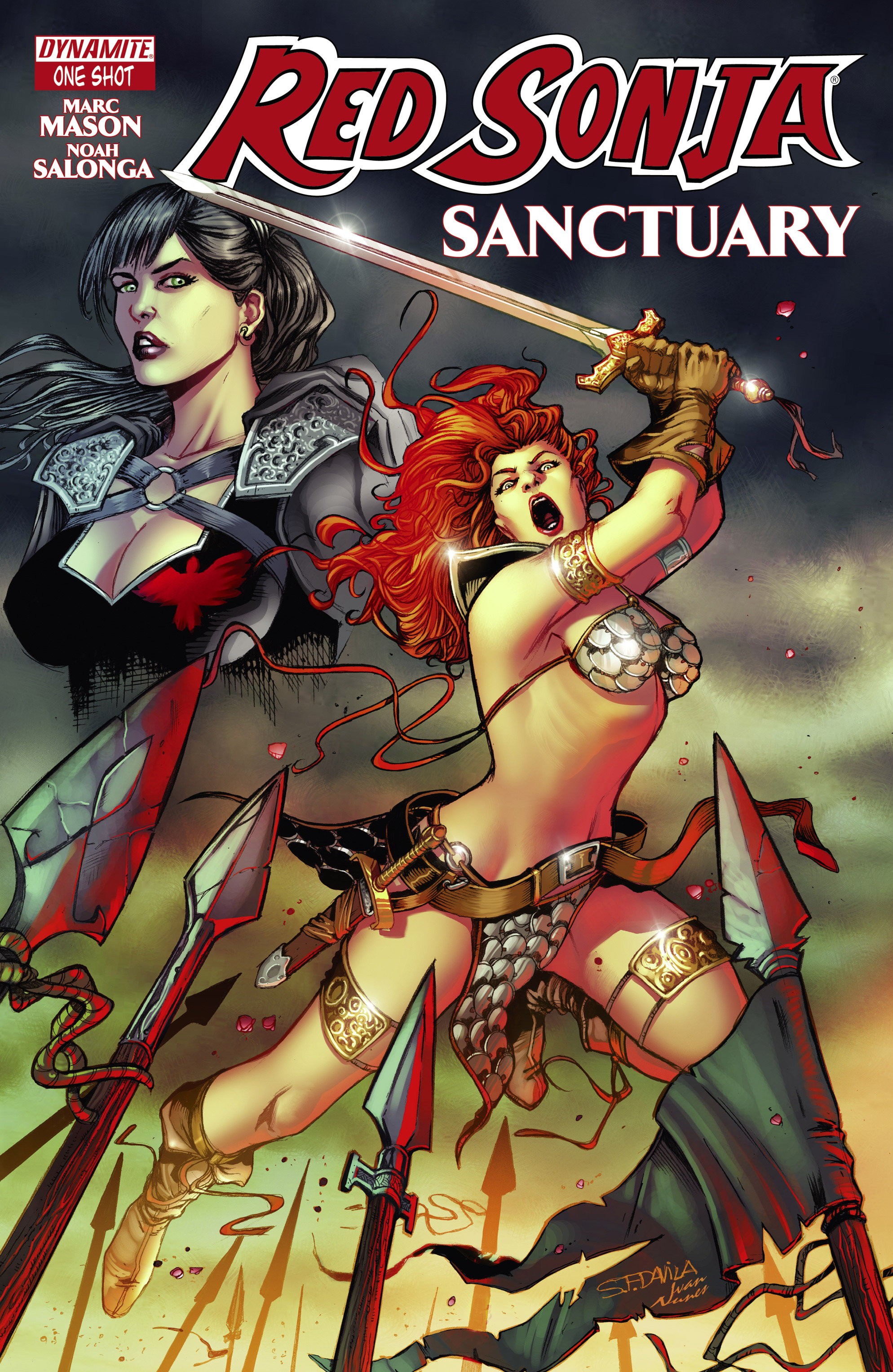 Read online Red Sonja: Sanctuary comic -  Issue # Full - 1