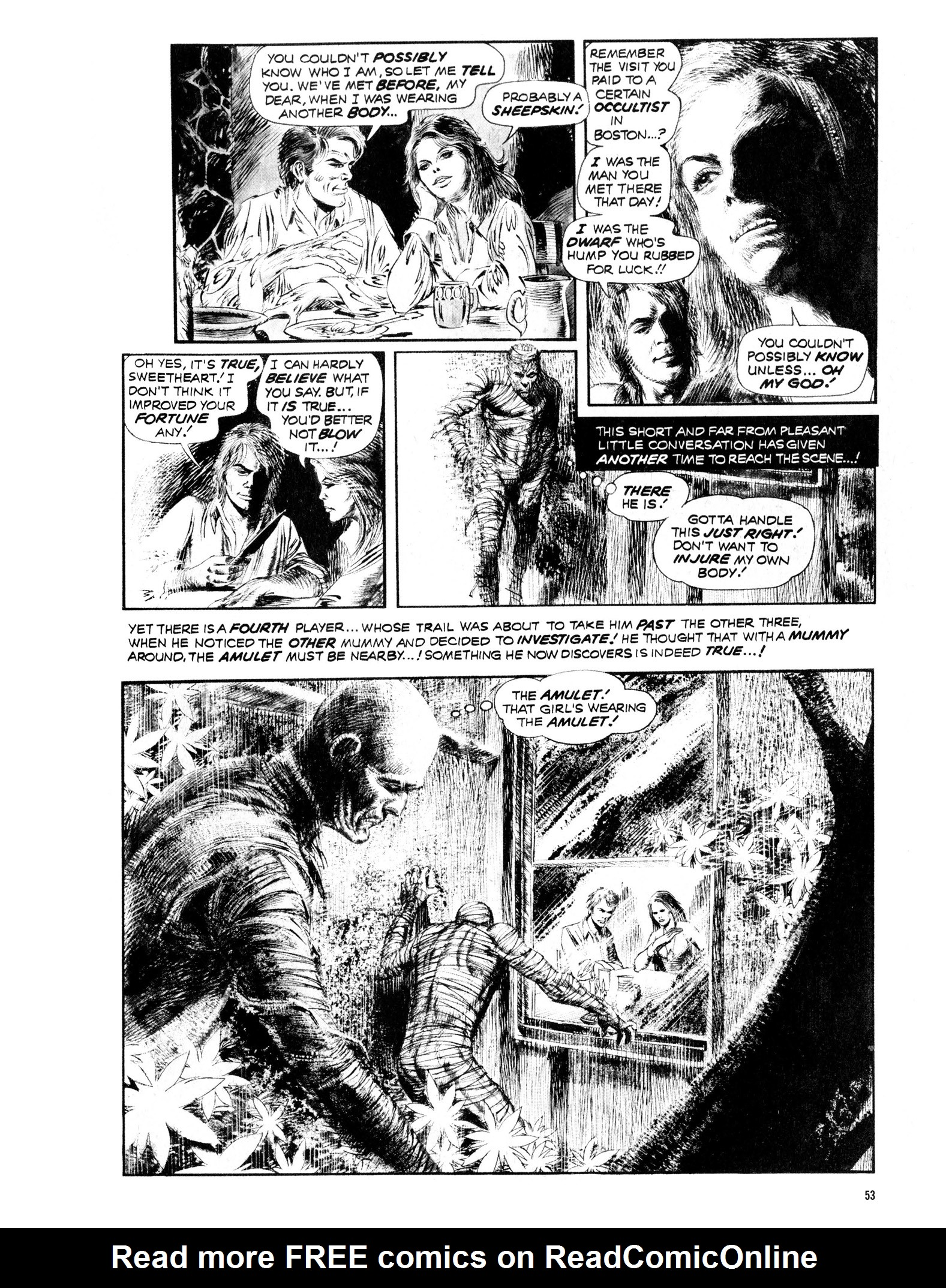 Read online Eerie Archives comic -  Issue # TPB 13 - 54