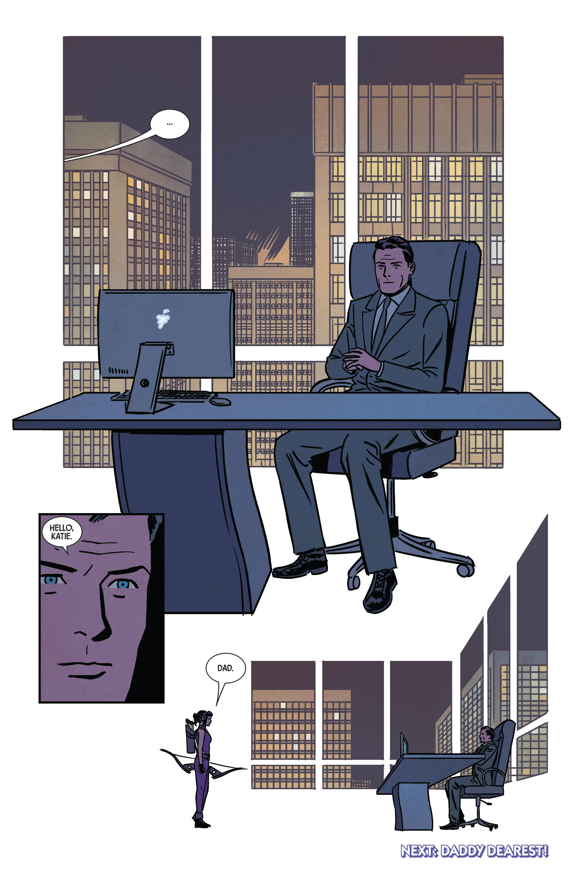 Read online Hawkeye (2016) comic -  Issue #7 - 21