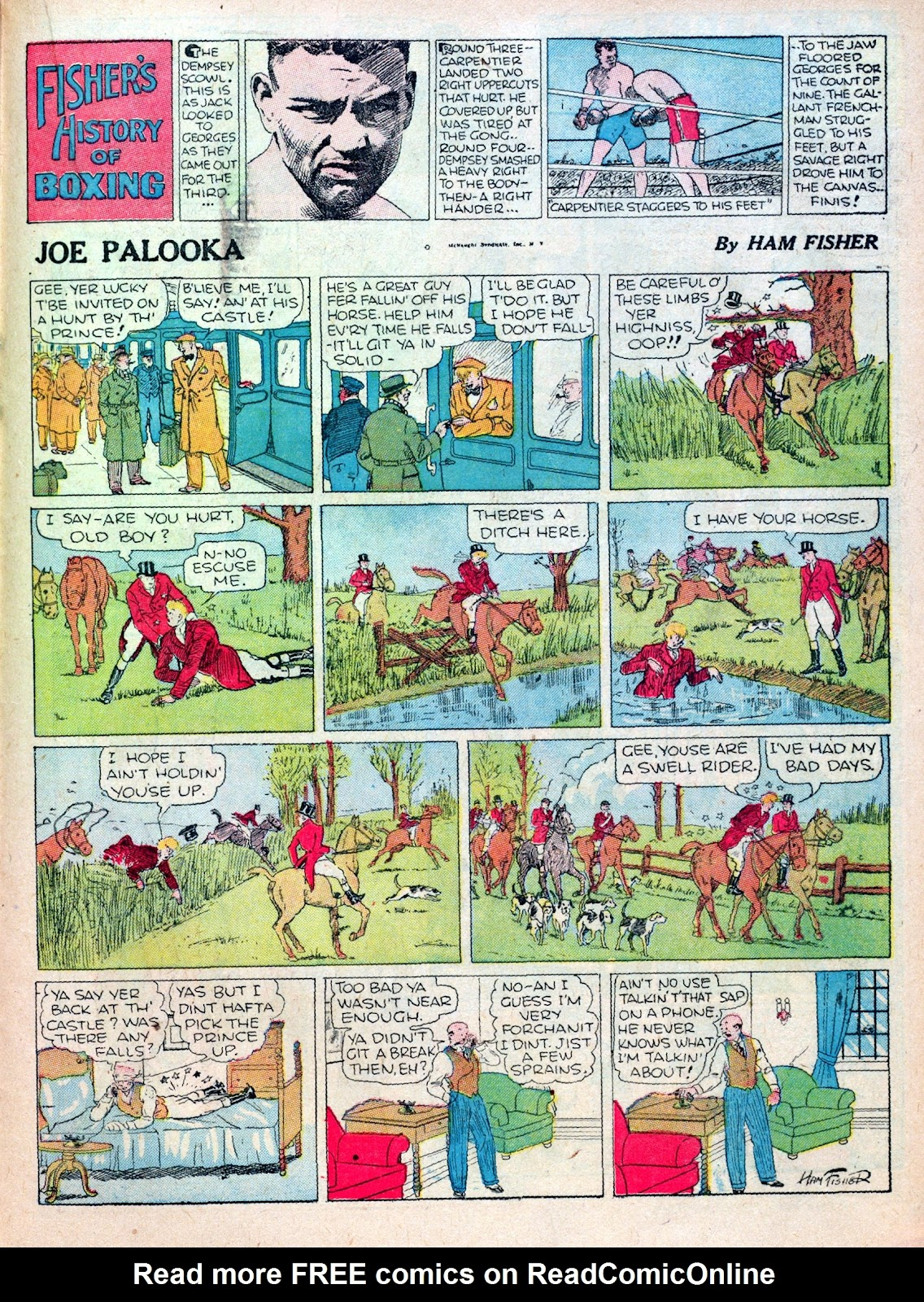 Read online Famous Funnies comic -  Issue #16 - 43