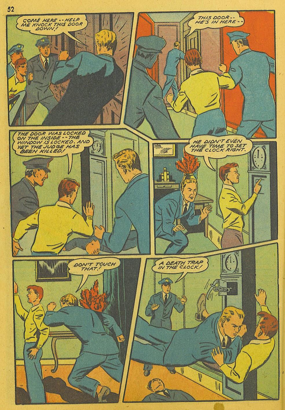 Read online Super-Magician Comics comic -  Issue #10 - 52