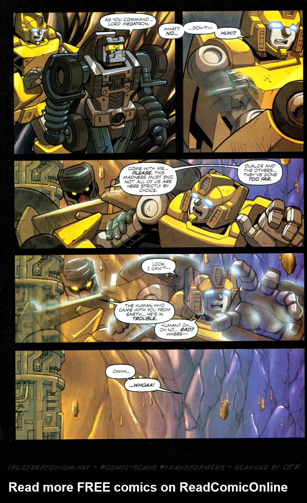 Read online Transformers Armada comic -  Issue #10 - 19