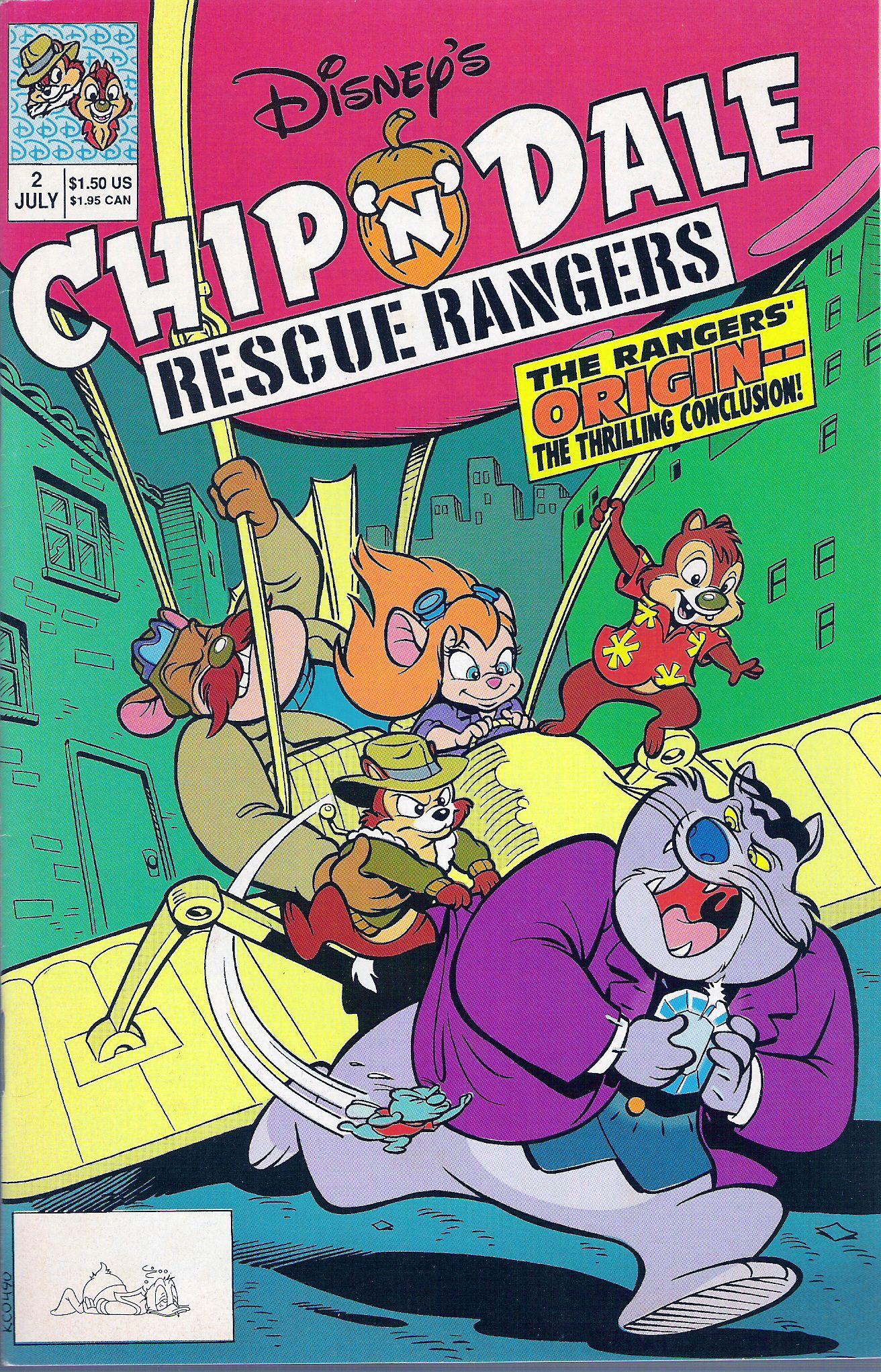 Disneys Chip N Dale Rescue Rangers 2 Page 1