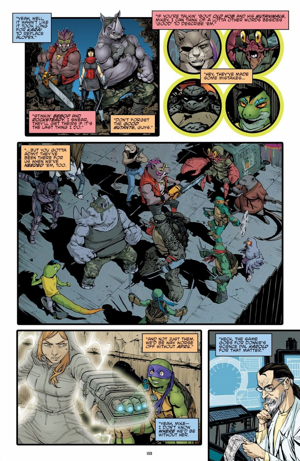 Read online Teenage Mutant Ninja Turtles: The IDW Collection comic -  Issue # TPB 6 (Part 2) - 57