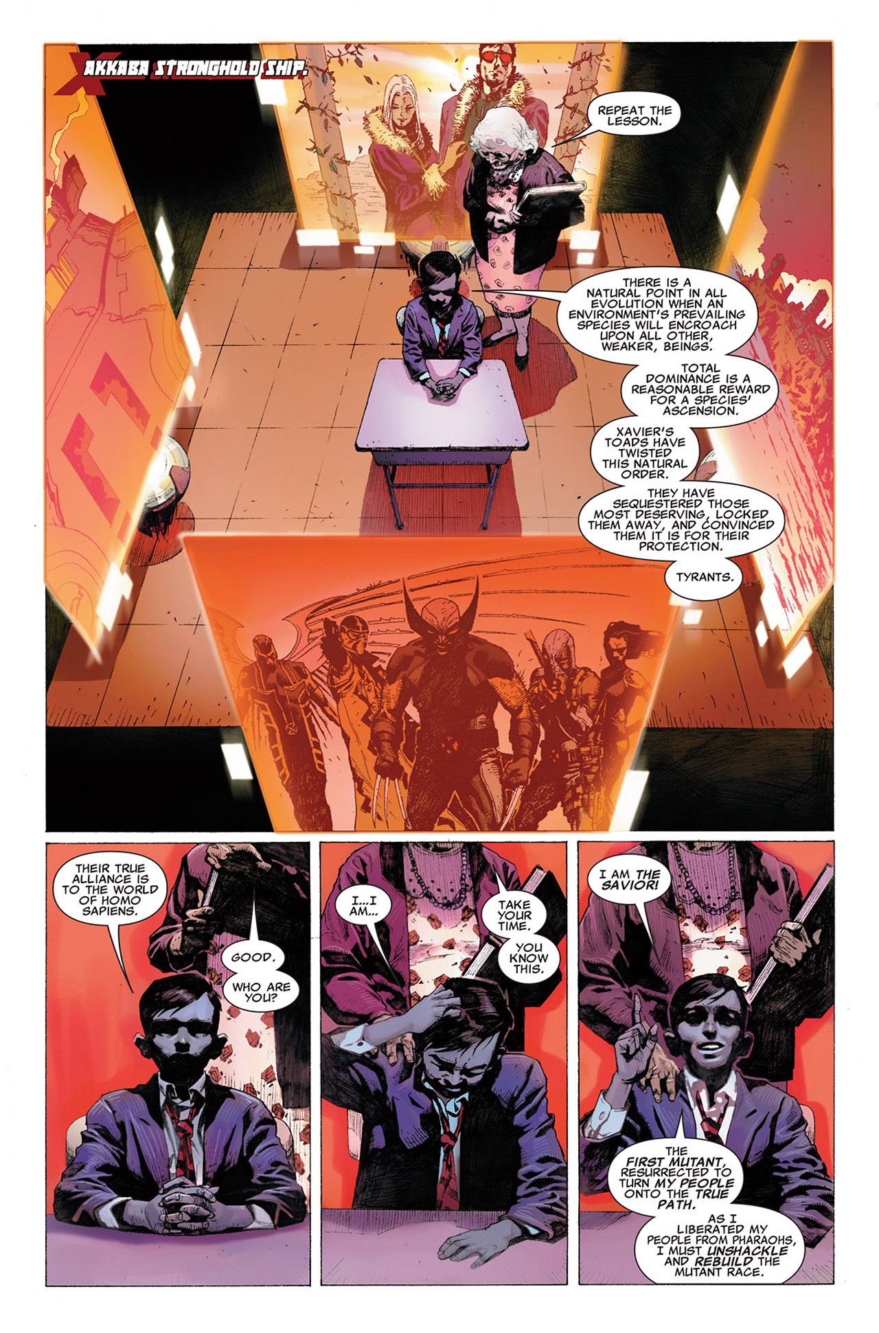 Read online Uncanny X-Force (2010) comic -  Issue #2 - 8