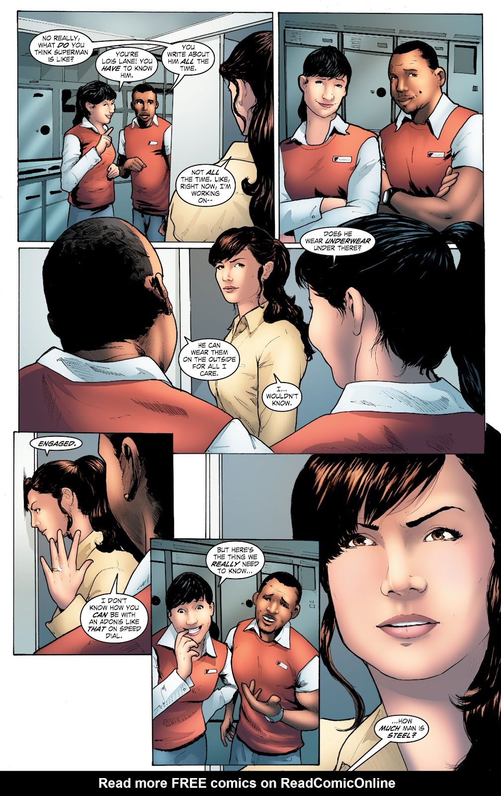 Read online Smallville Season 11 [II] comic -  Issue # TPB 4 - 105