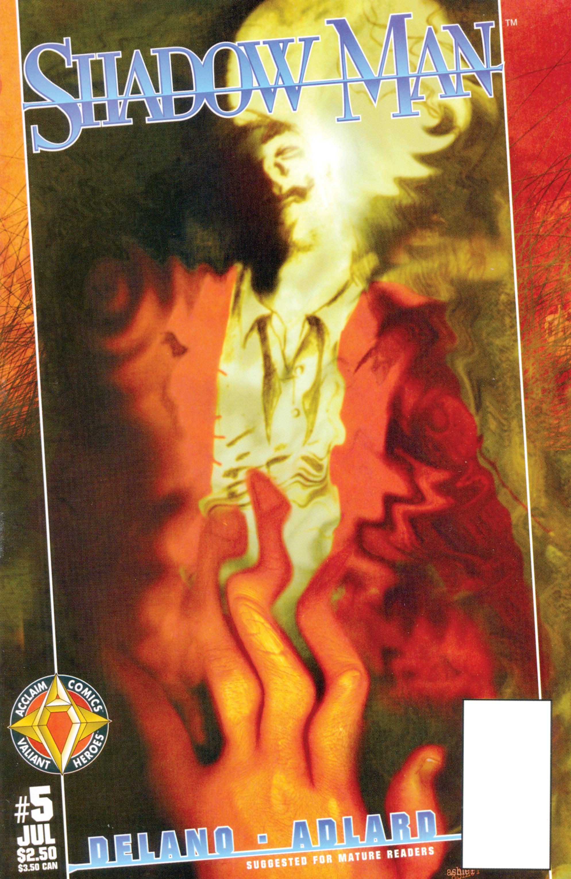 Read online Shadowman (1997) comic -  Issue #5 - 1