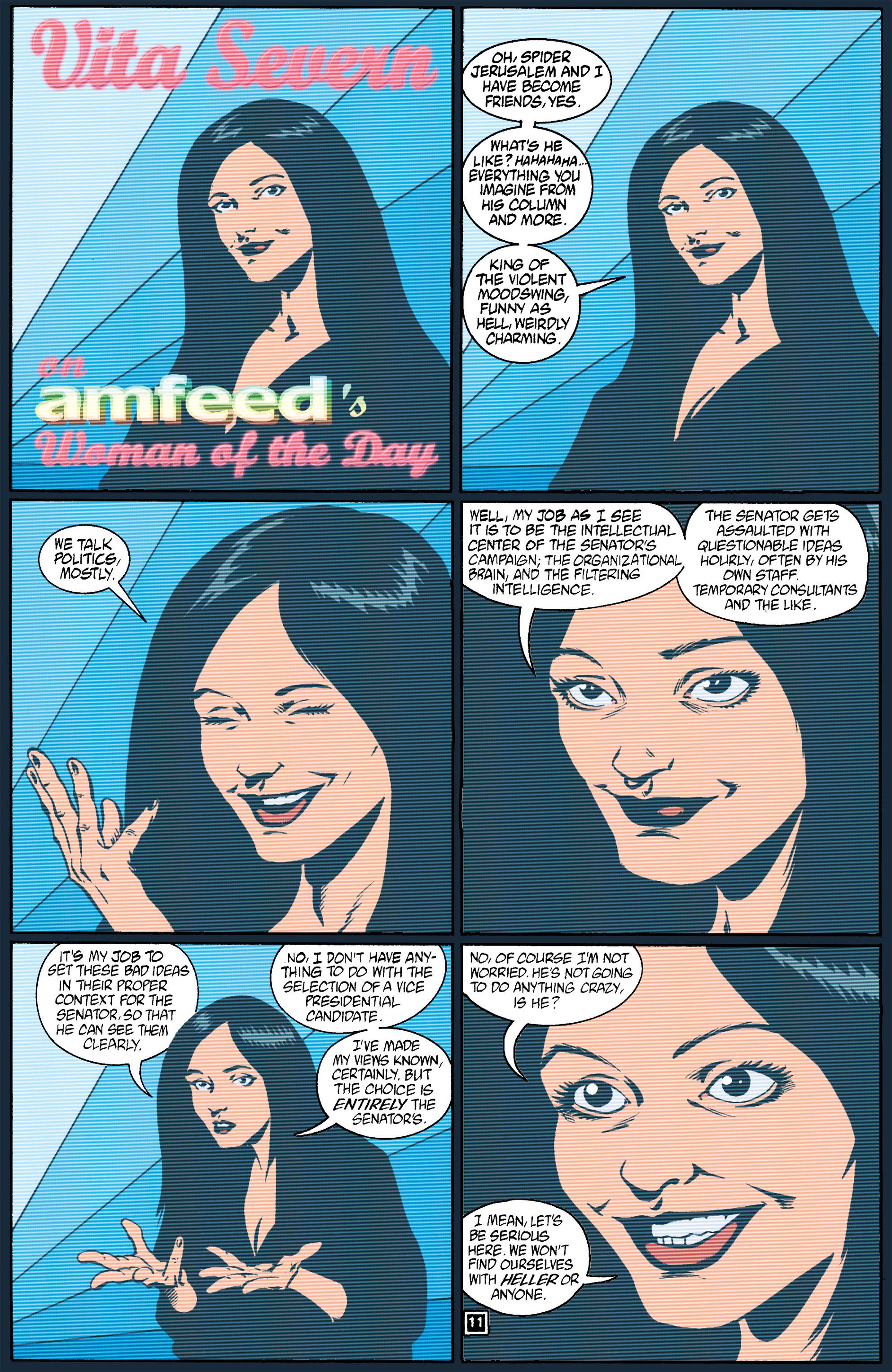 Read online Transmetropolitan comic -  Issue #17 - 12