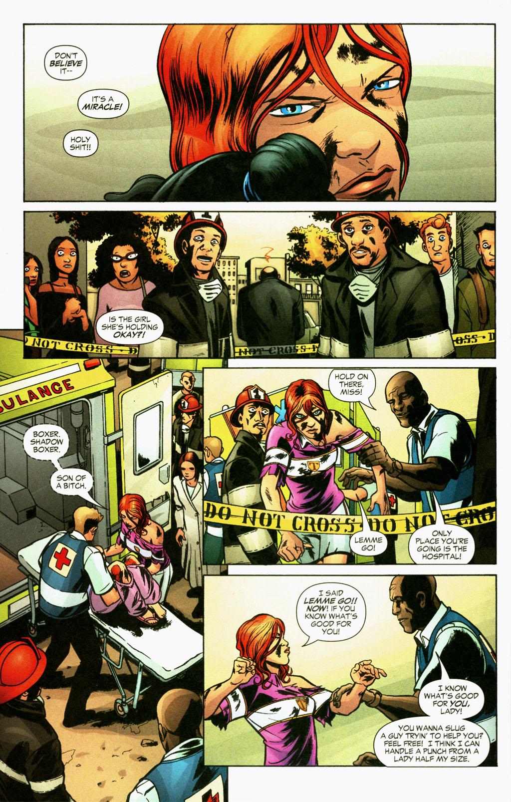 Read online Fallen Angel (2003) comic -  Issue #16 - 10