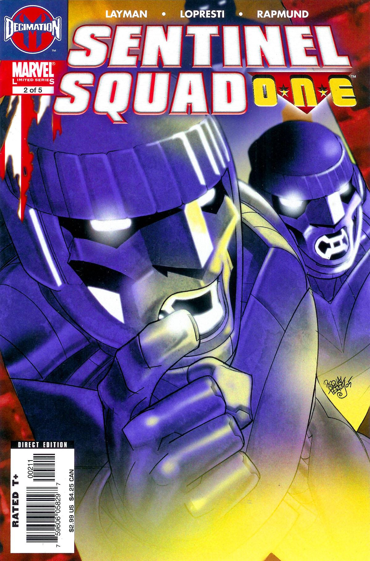 Read online Sentinel Squad O*N*E comic -  Issue #2 - 1