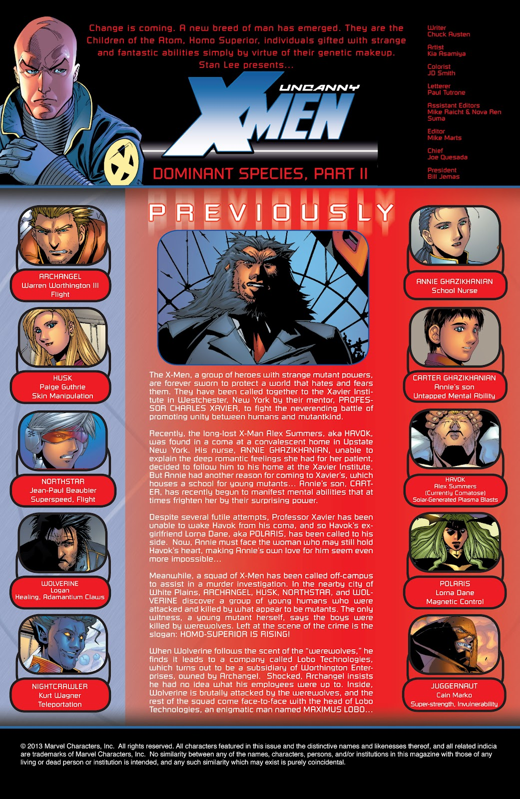Uncanny X-Men (1963) issue 418 - Page 2