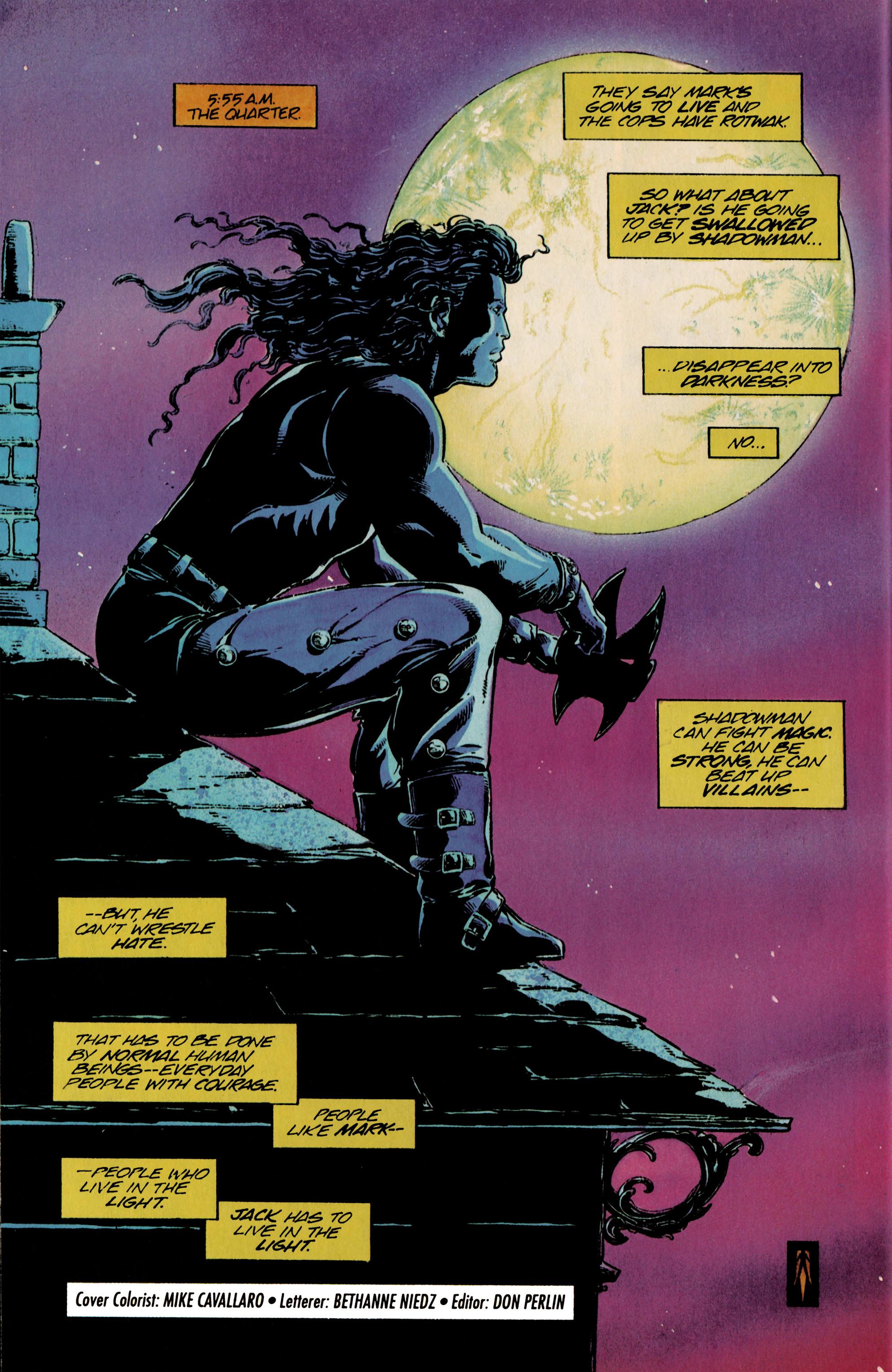 Read online Shadowman (1992) comic -  Issue #24 - 22