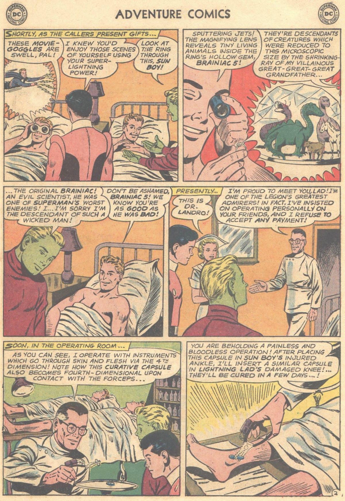 Read online Adventure Comics (1938) comic -  Issue #303 - 22