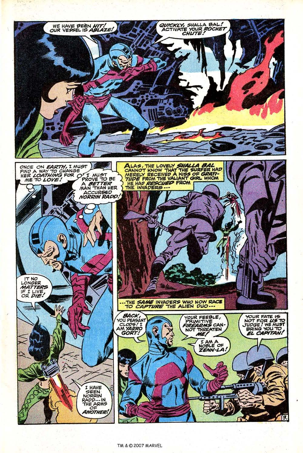 Read online Silver Surfer (1968) comic -  Issue #11 - 5