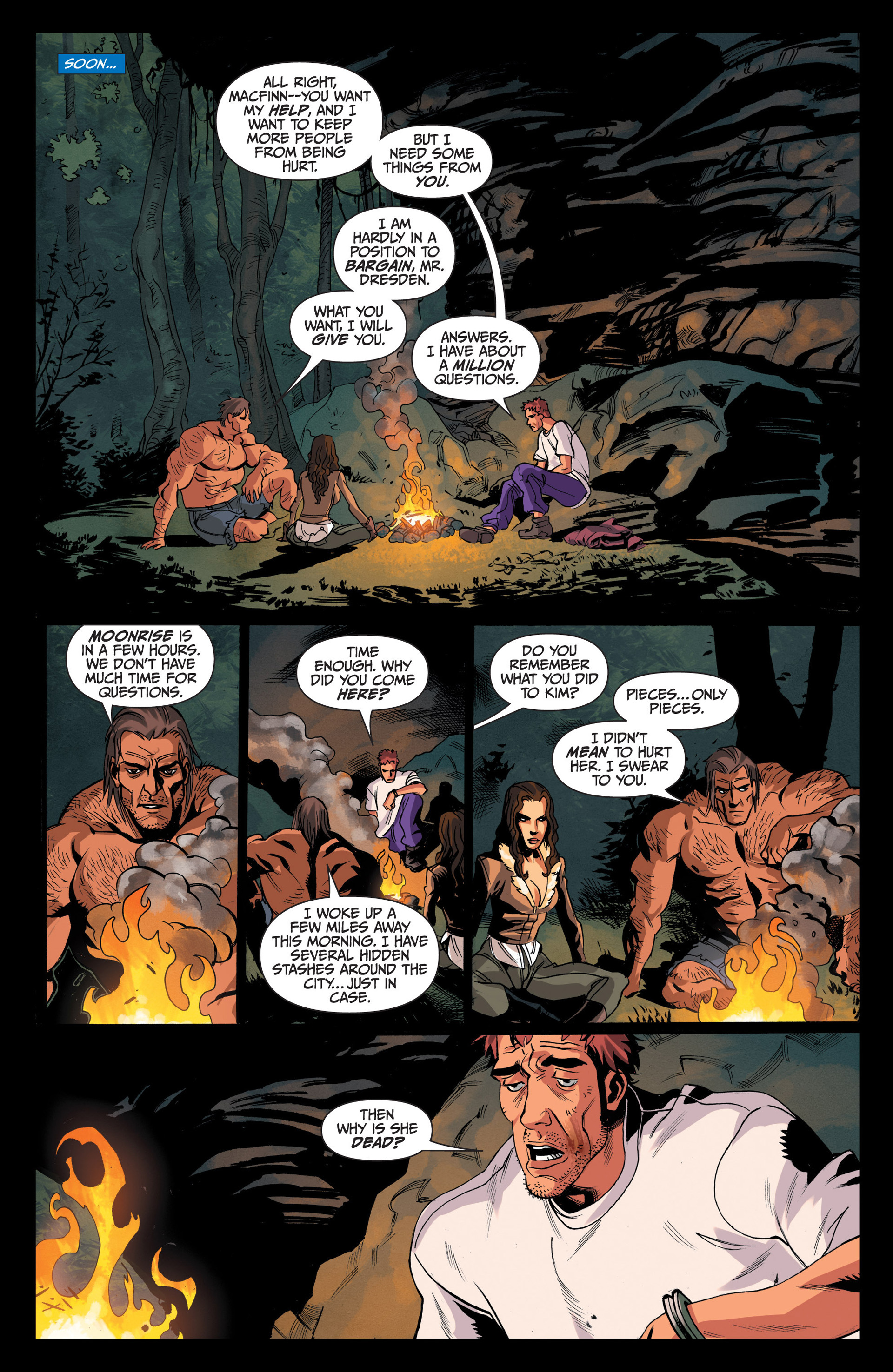 Read online Jim Butcher's The Dresden Files: Fool Moon comic -  Issue #4 - 15