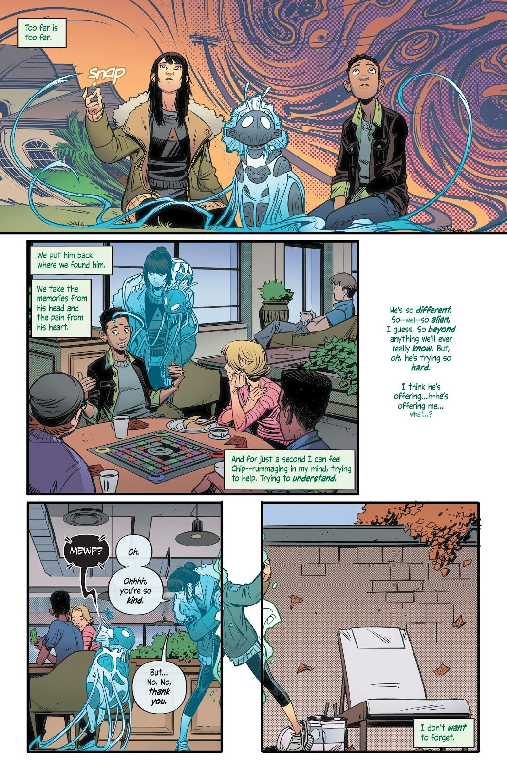 Read online Alienated comic -  Issue #3 - 21