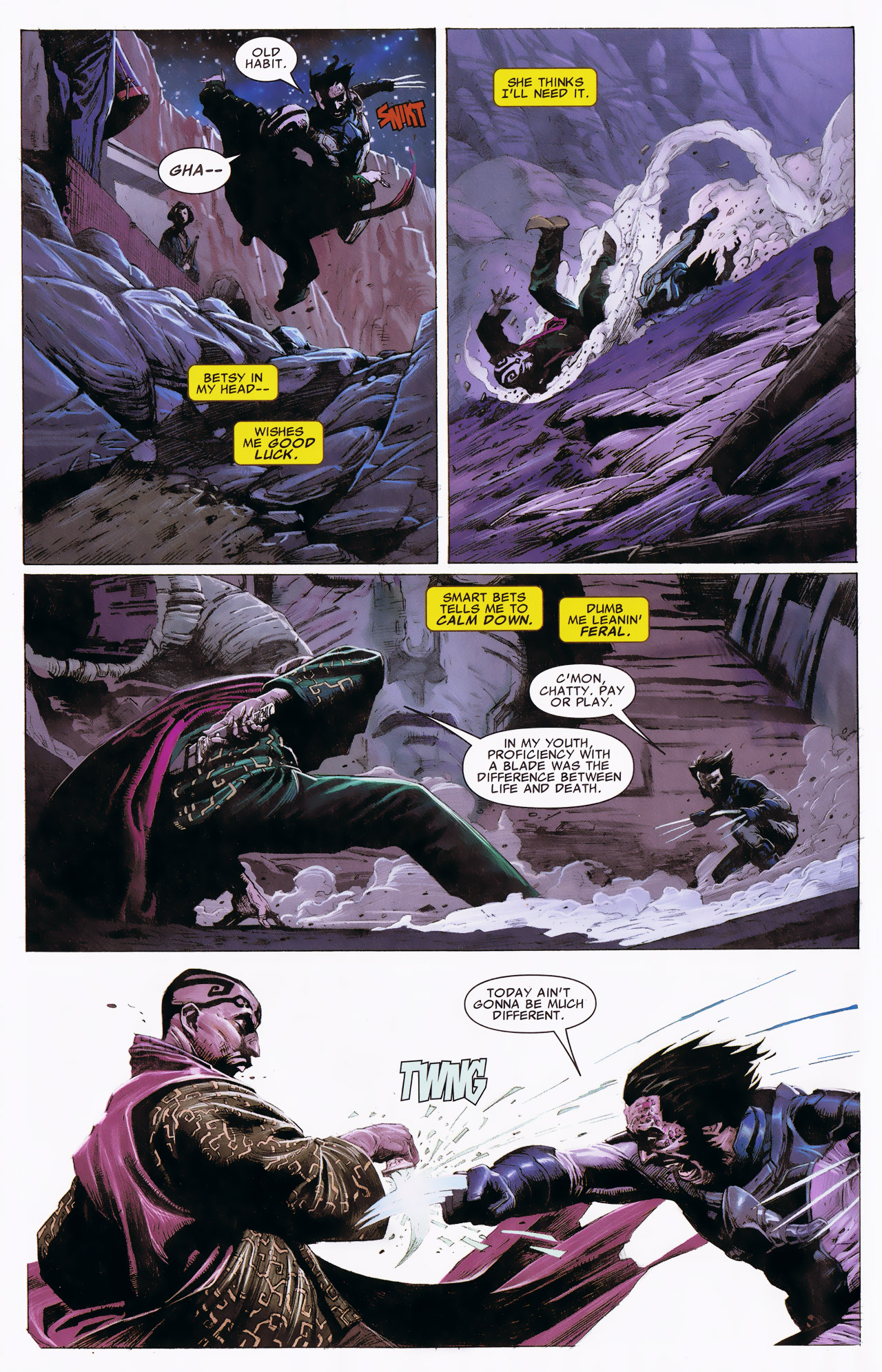 Read online Uncanny X-Force: The Apocalypse Solution comic -  Issue # Full - 58