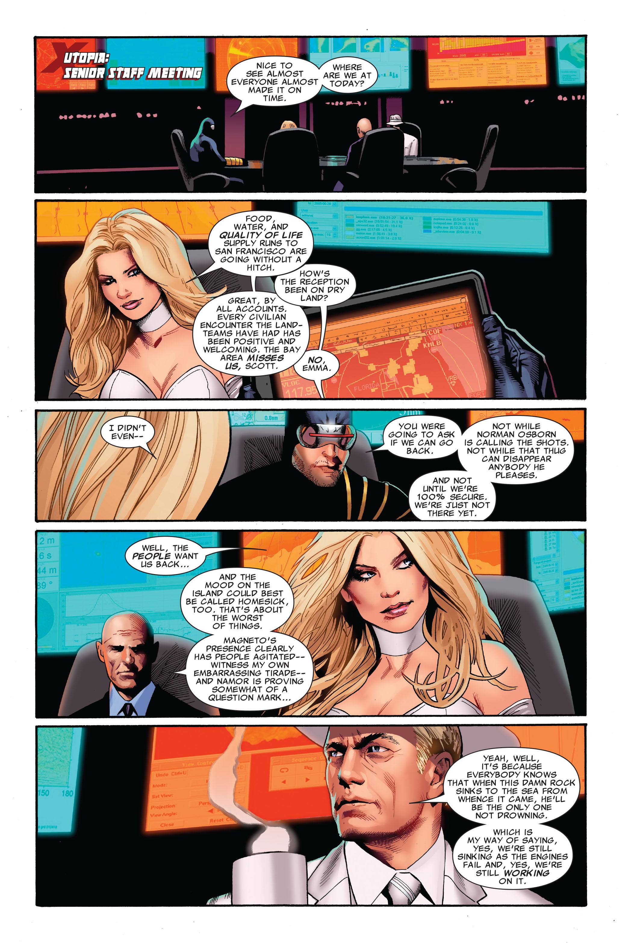 Read online Uncanny X-Men (1963) comic -  Issue #520 - 11