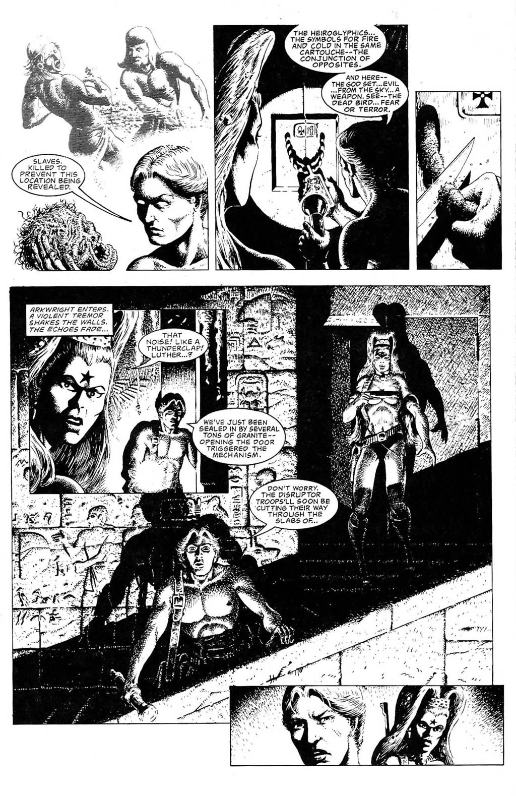 Read online The Adventures of Luther Arkwright comic -  Issue #2 - 19