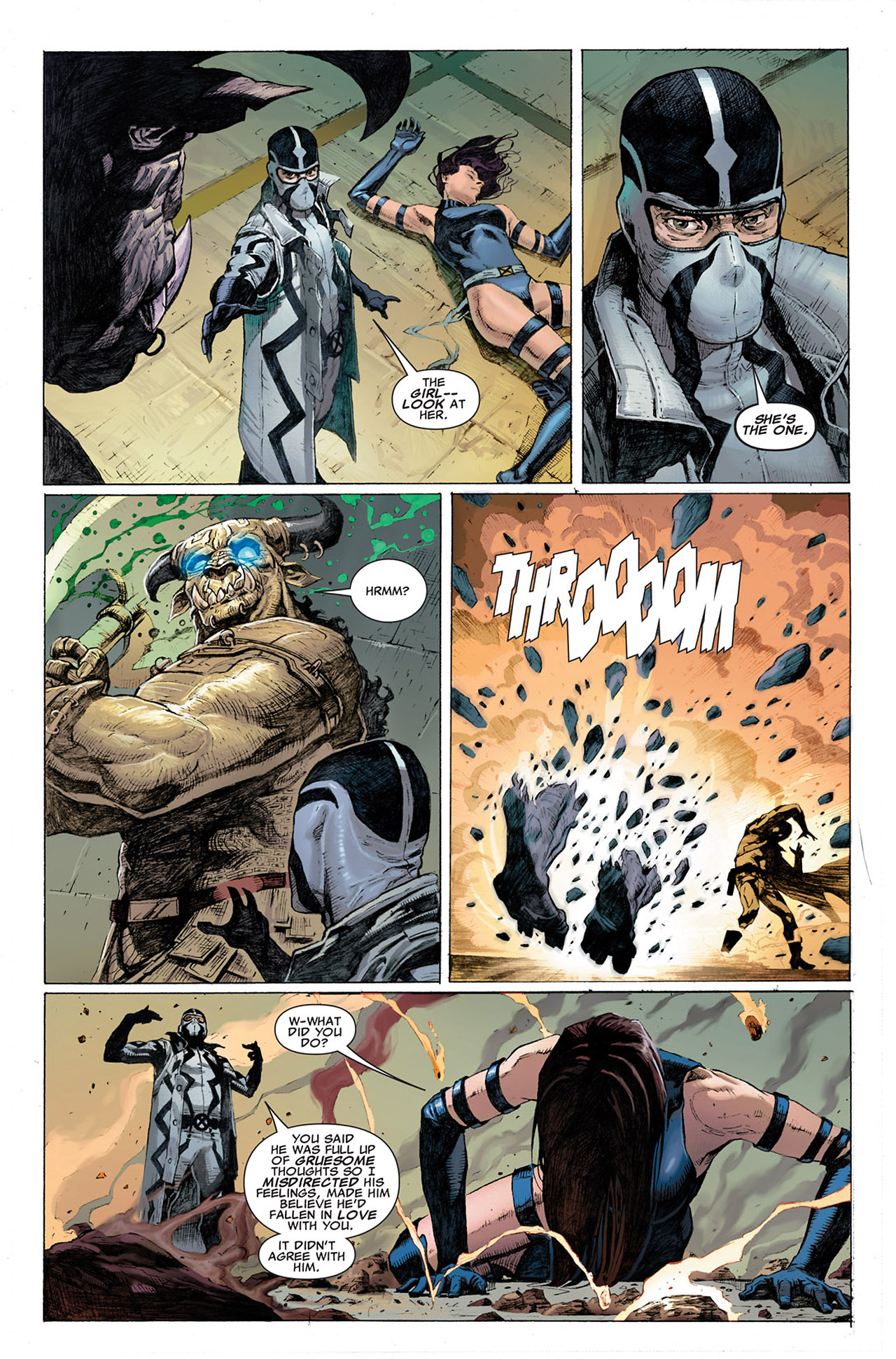 Read online Uncanny X-Force (2010) comic -  Issue #1 - 19