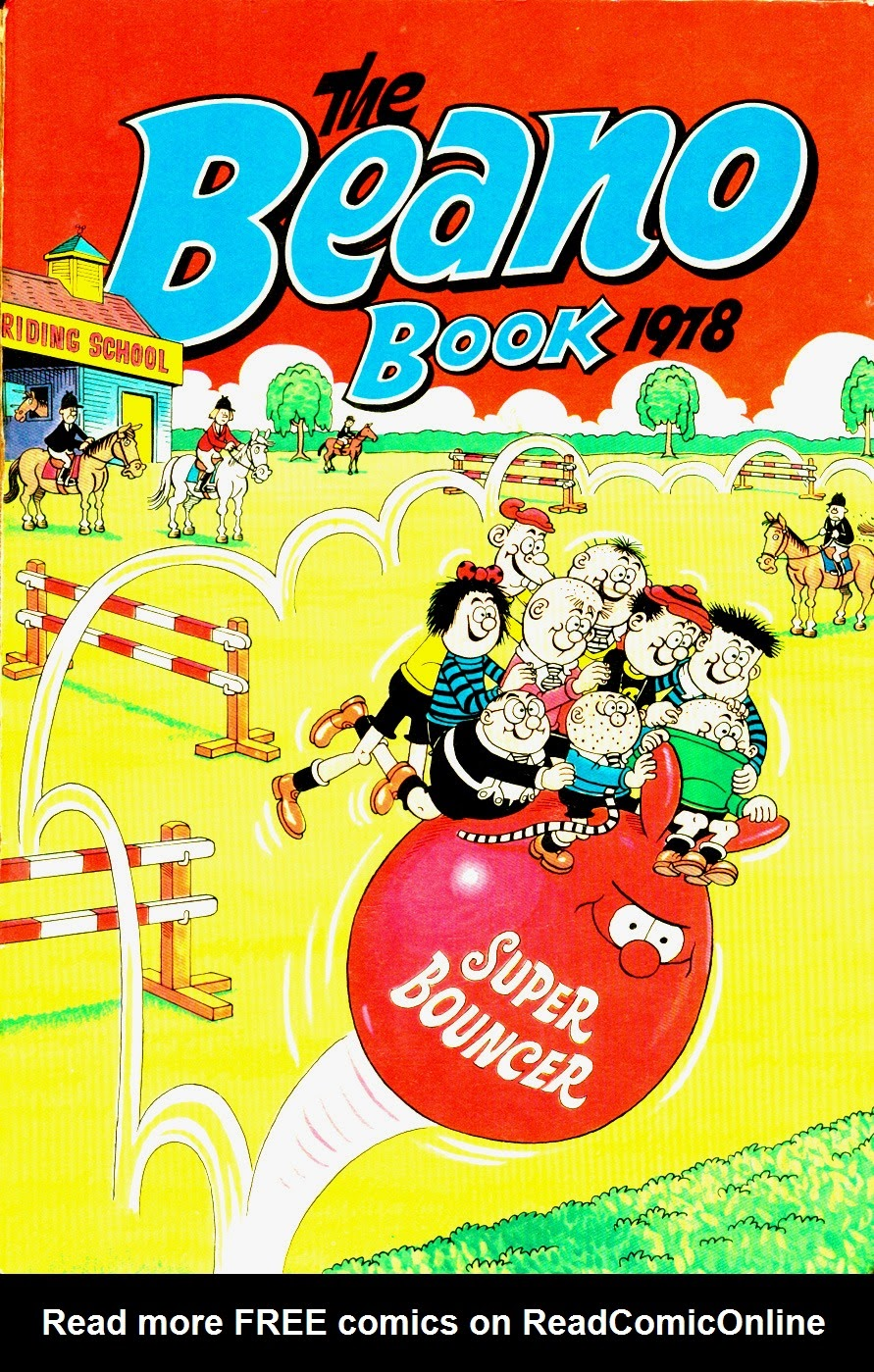 The Beano Book (Annual) 1978 Page 1