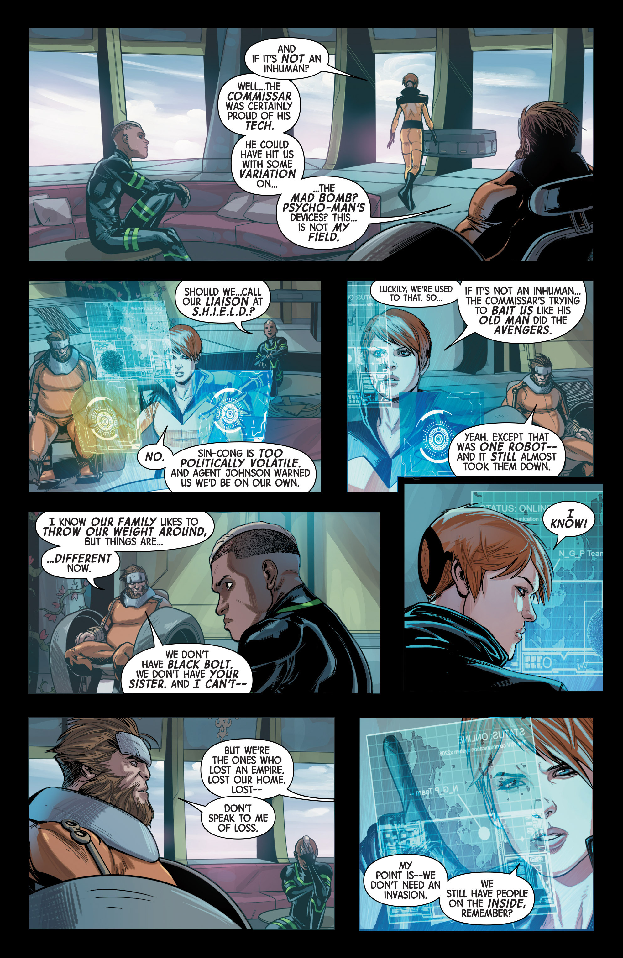Read online All-New Inhumans comic -  Issue #3 - 4