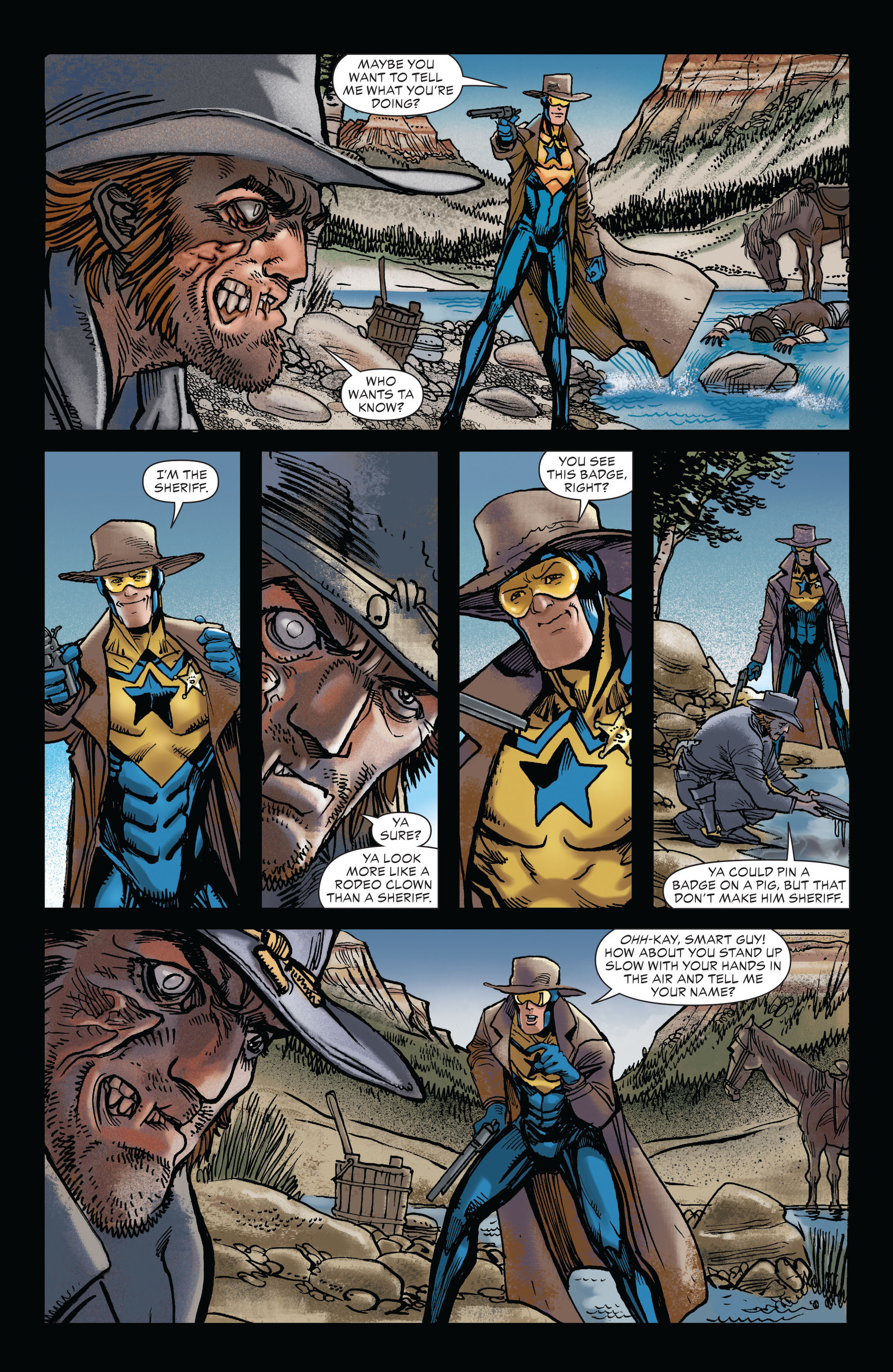 Read online All-Star Western (2011) comic -  Issue #19 - 3