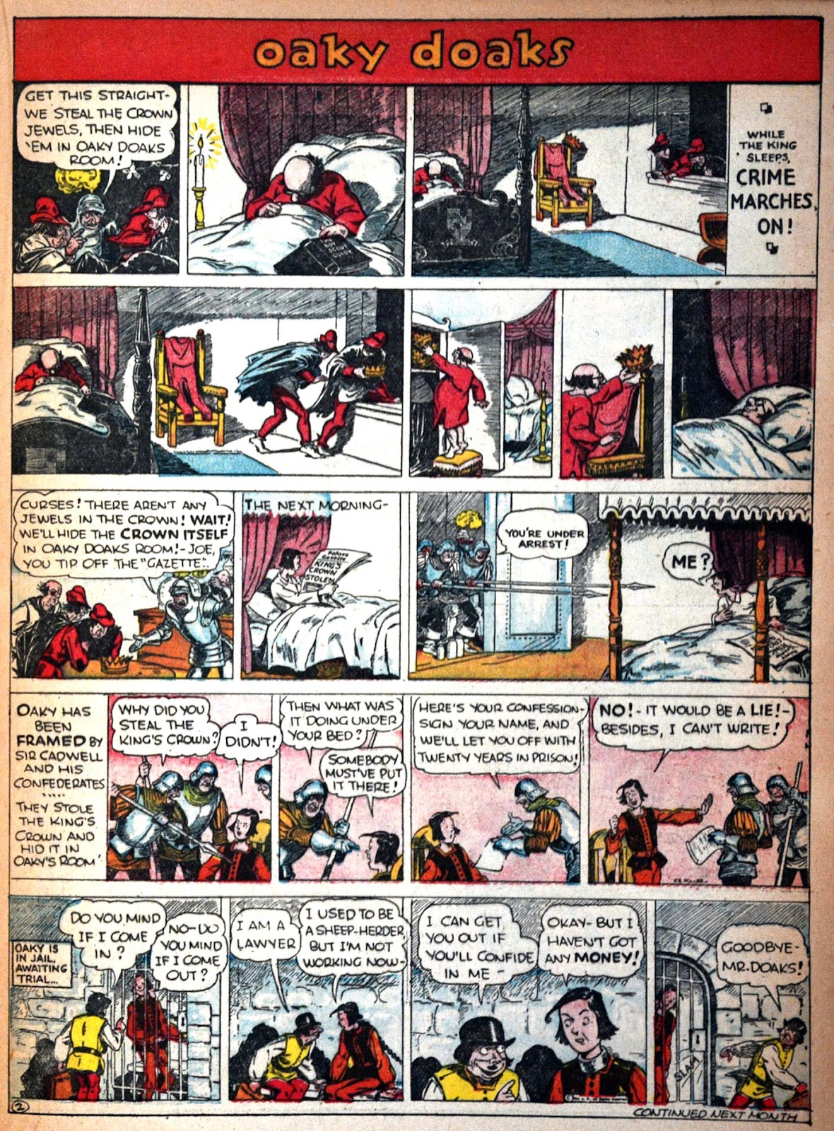 Read online Famous Funnies comic -  Issue #29 - 40