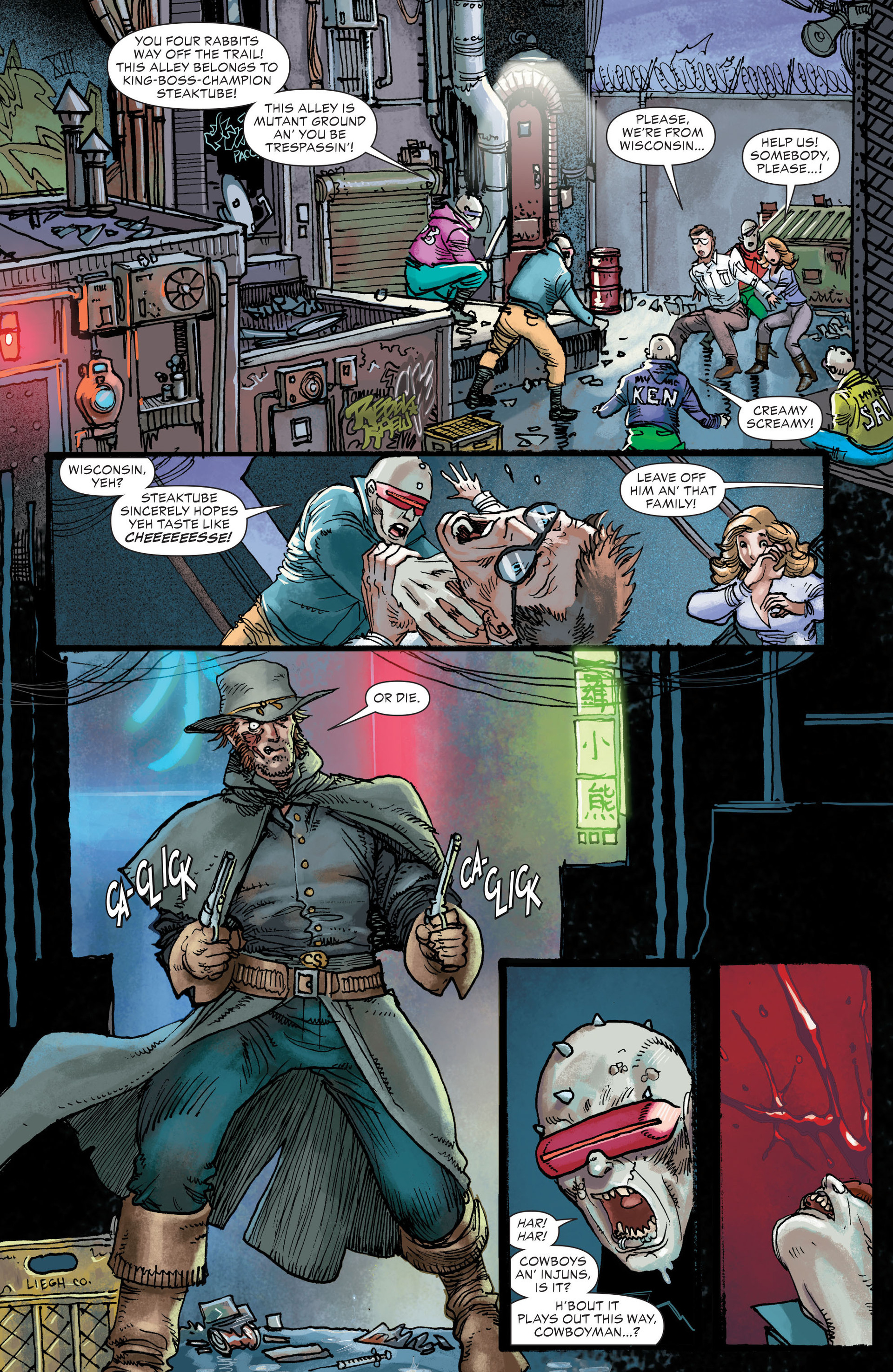 Read online All-Star Western (2011) comic -  Issue #21 - 11