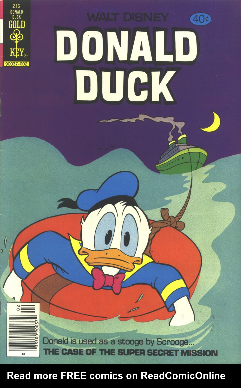 Donald Duck (1962) 216 Page 1