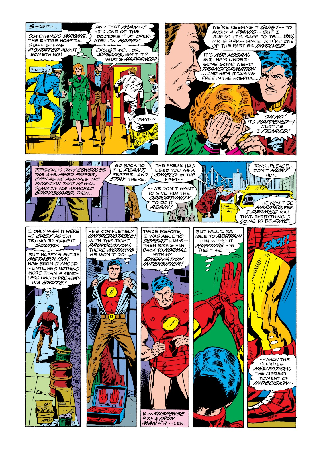 Read online Marvel Masterworks: The Invincible Iron Man comic -  Issue # TPB 11 (Part 1) - 53