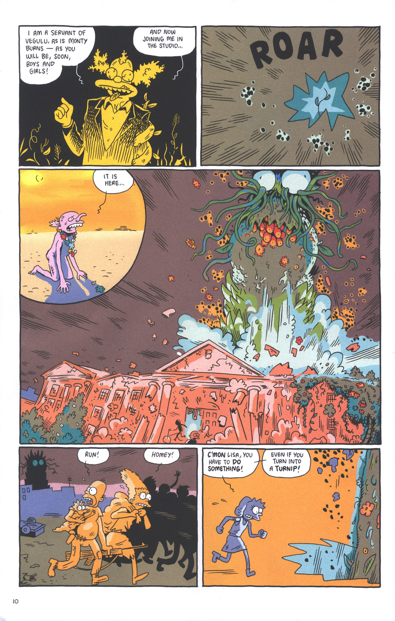 Read online Treehouse of Horror comic -  Issue #15 - 13