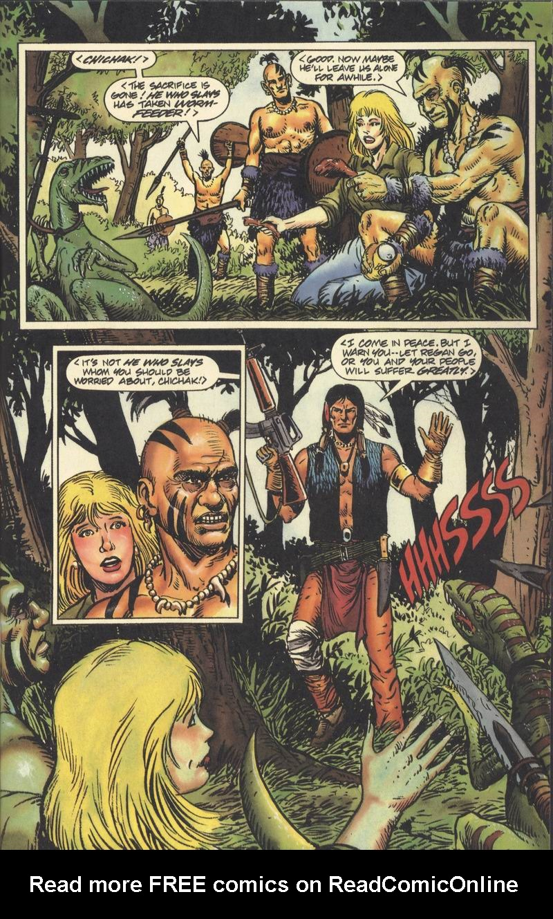 Read online Turok, Dinosaur Hunter (1993) comic -  Issue #9 - 14